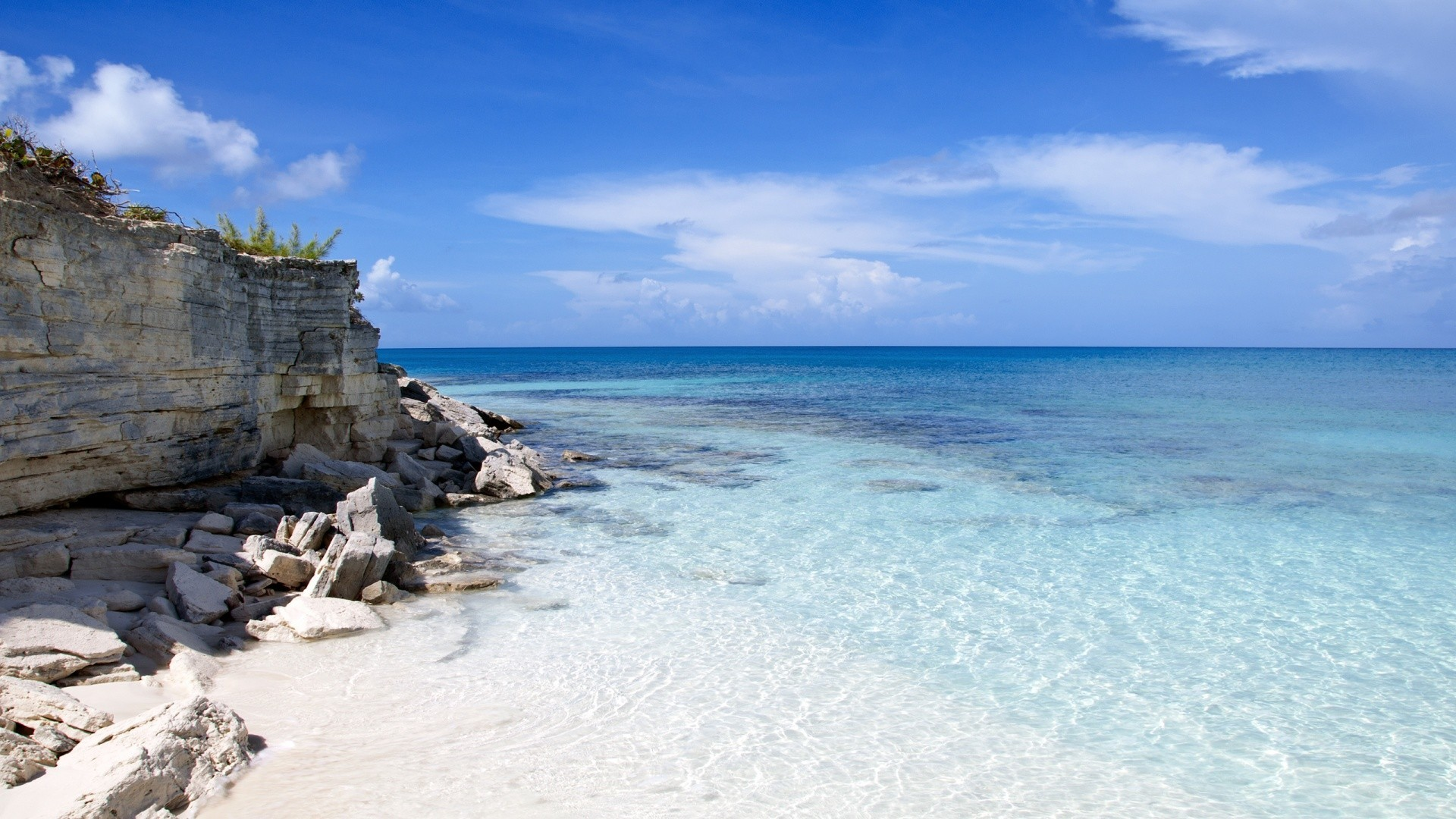 Res: 1920x1080, Lagoons Nature Beautiful Rocky Blue Lagoon Beaches Oceans Sea Ocean  Wallpaper For Iphone 6 -