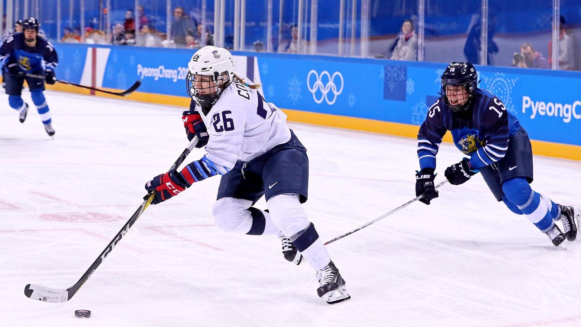 Res: 1920x1080, 2018 Olympic Hockey Results: USA women's team scores early comeback victory    NBC Sports Washington