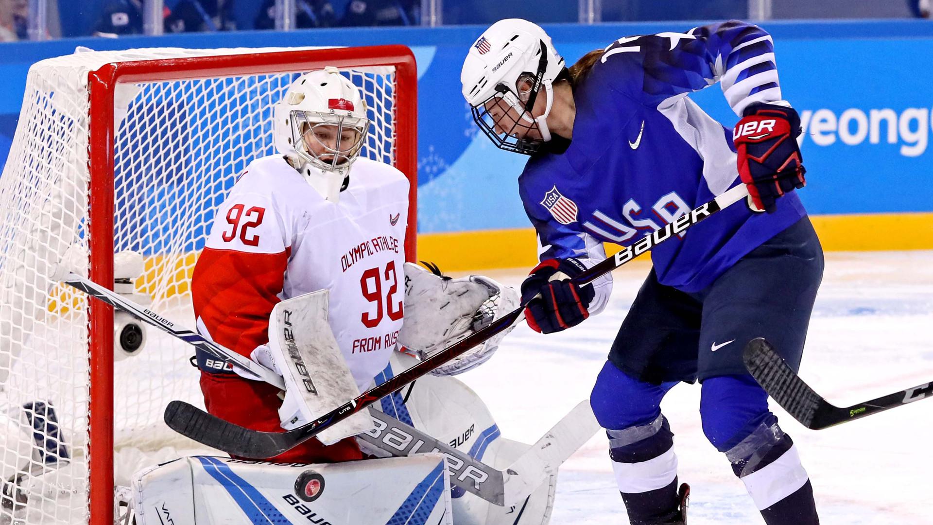 Res: 1920x1080, 2018 Olympic Hockey Results: US women shut out Russia   NBC Sports  Washington
