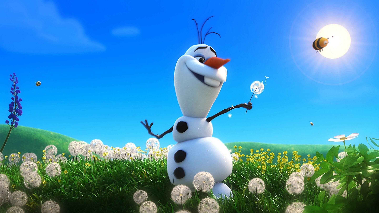 Res: 2880x1620, Desenhos animados engraçados Olaf Snowman Frozen Wallpaper | HD wallpaper .
