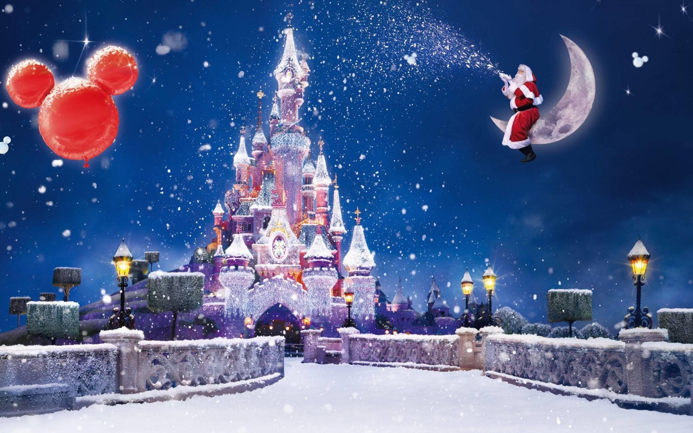 Res: 2880x1800,  Christmas Disney Wallpaper