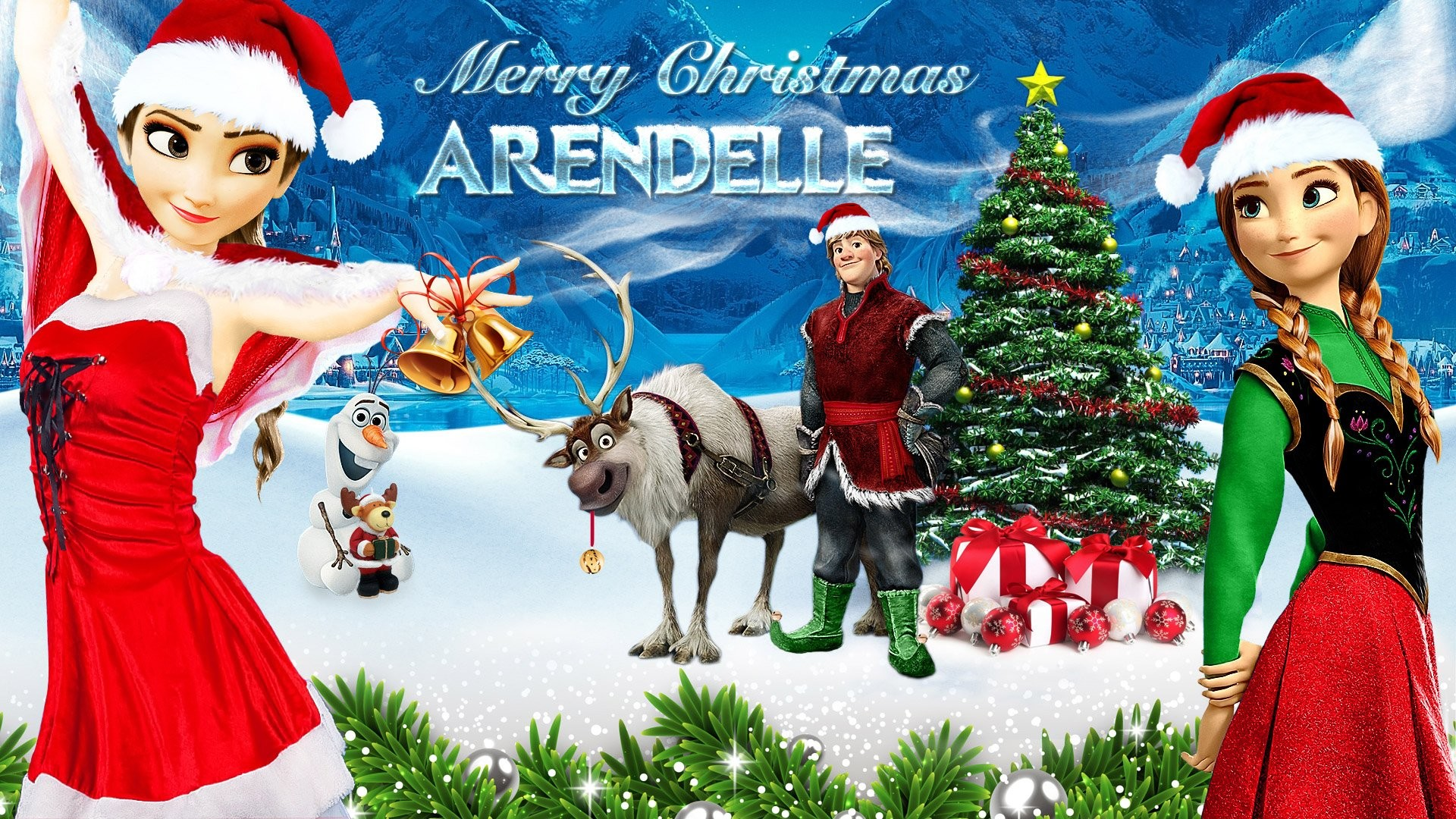 Res: 1920x1080, CHRISTMAS holiday frozen wallpaper  554901 WallpaperUP