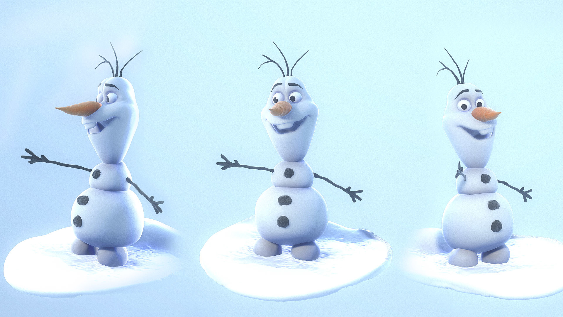 Res: 1920x1080, Cute Olaf Wallpapers,  - By Katherina Hokanson