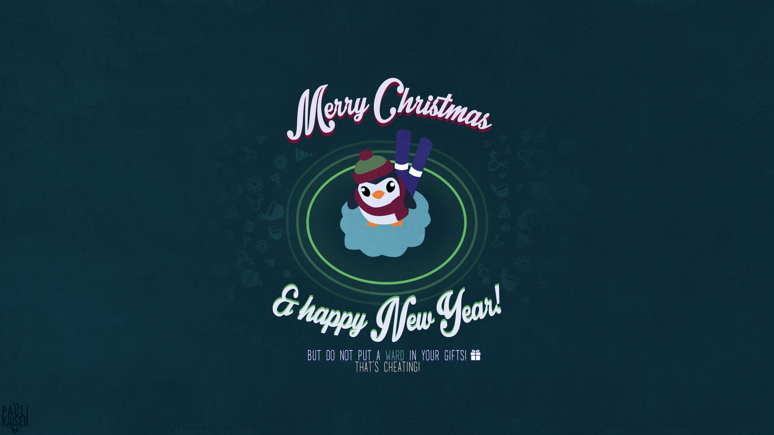 Res: 2560x1440, Christmas Wallpaper