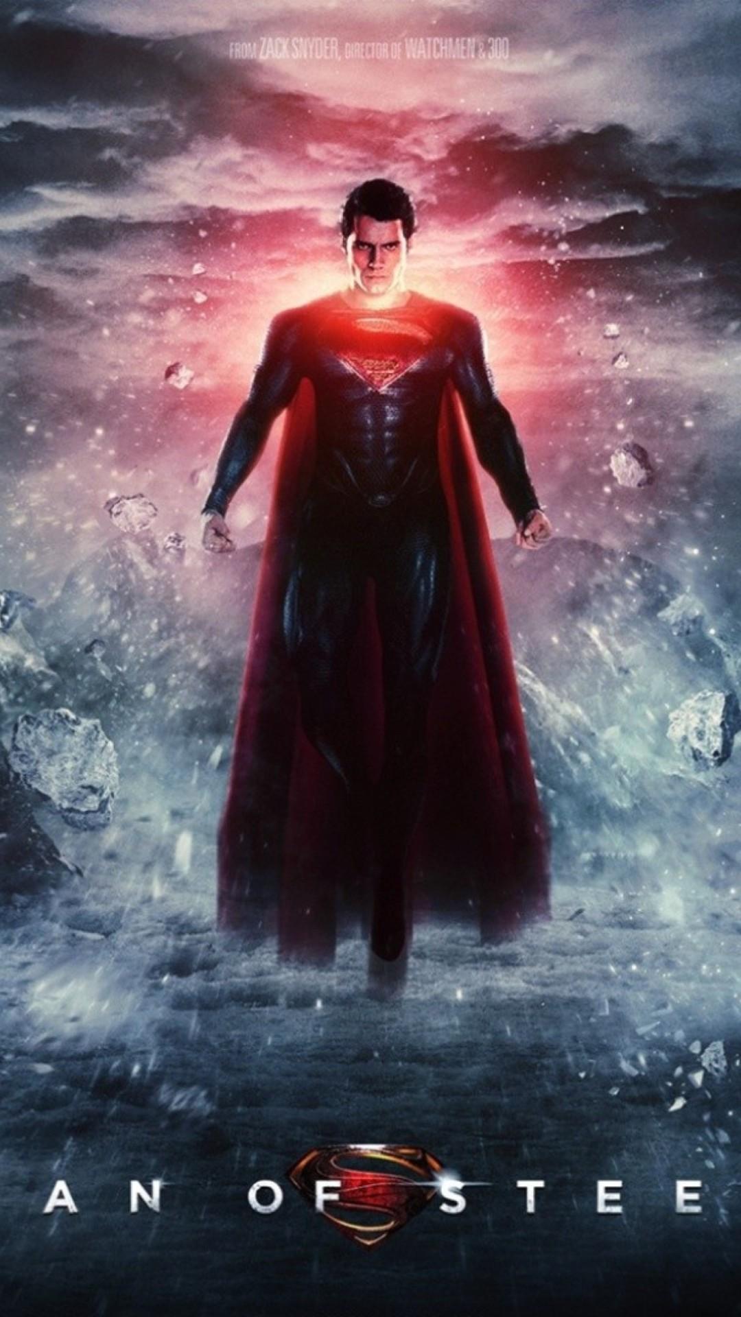 Res: 1080x1920, Man Of Steel Superman Iphone Wallpaper.