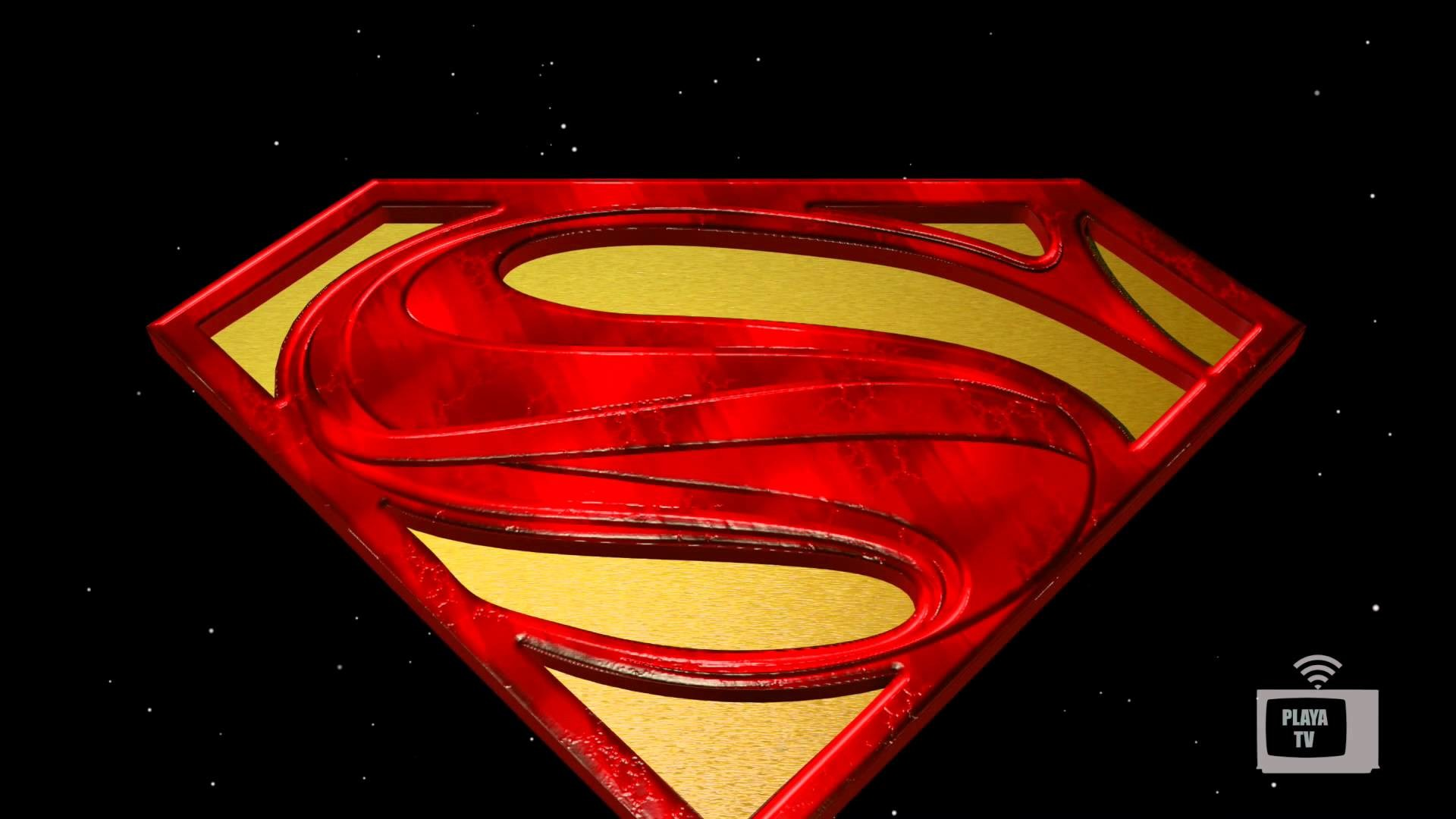 Res: 1920x1080, Animated 3D Model Superman Logo - YouTube