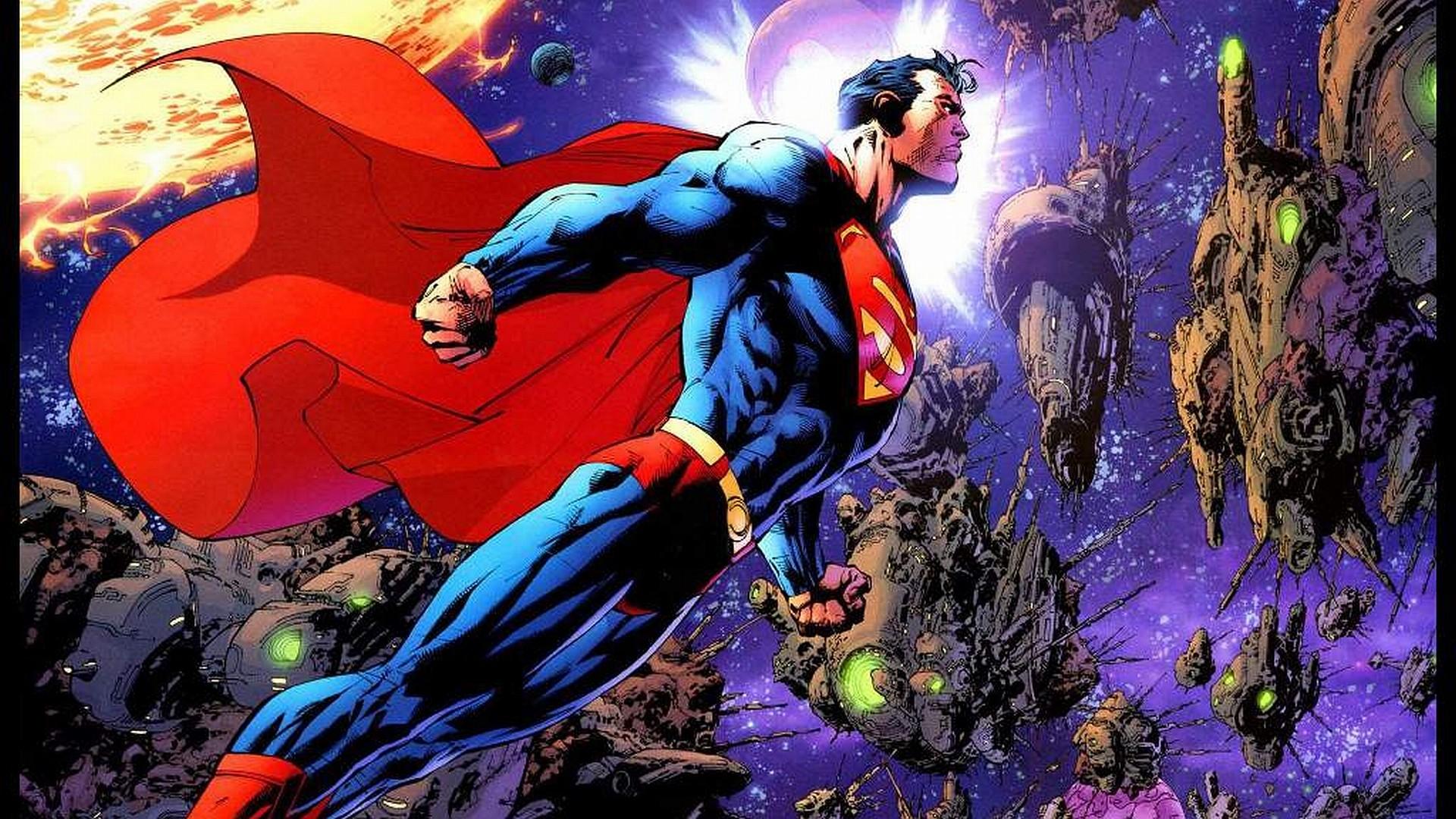 Res: 1920x1080, Comics - Superman Wallpaper