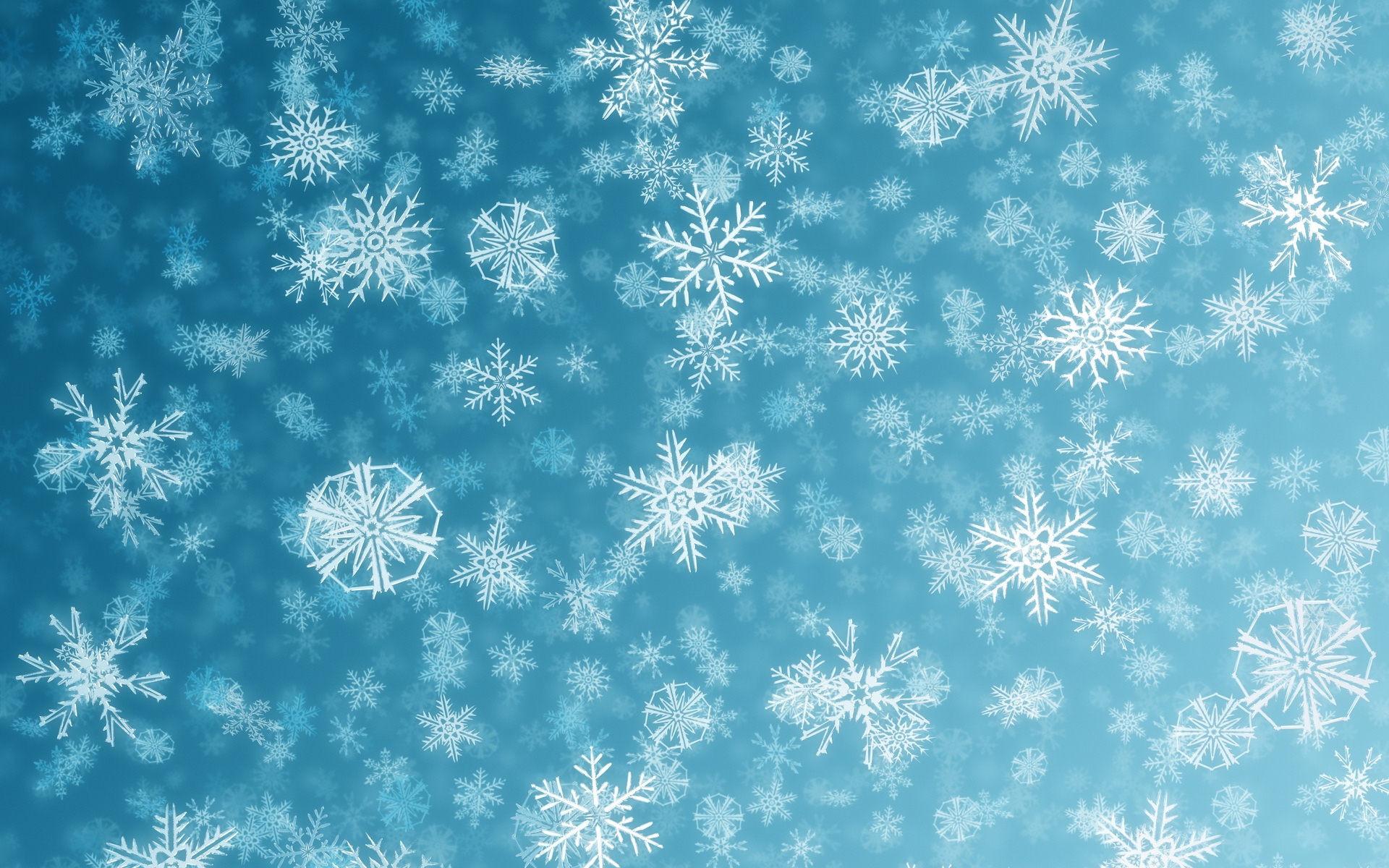 Res: 1920x1200, Snowflakes Wallpaper