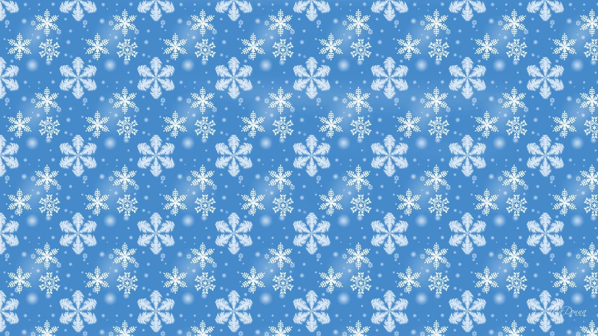 Res: 1920x1080, Blue Winter Snow Christmas Snowflakes Simple Frosty Wallpaper Backgrounds -