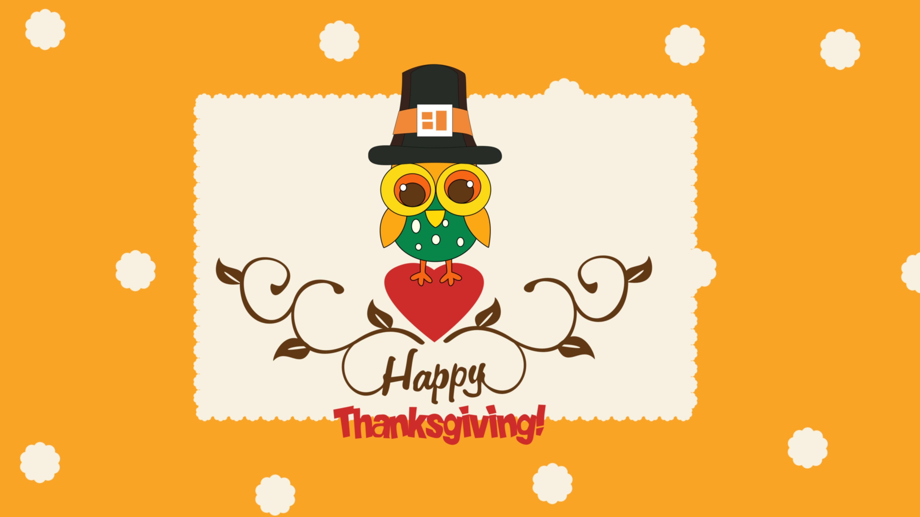 Res: 3840x2160, Free Cute Thanksgiving Photo.