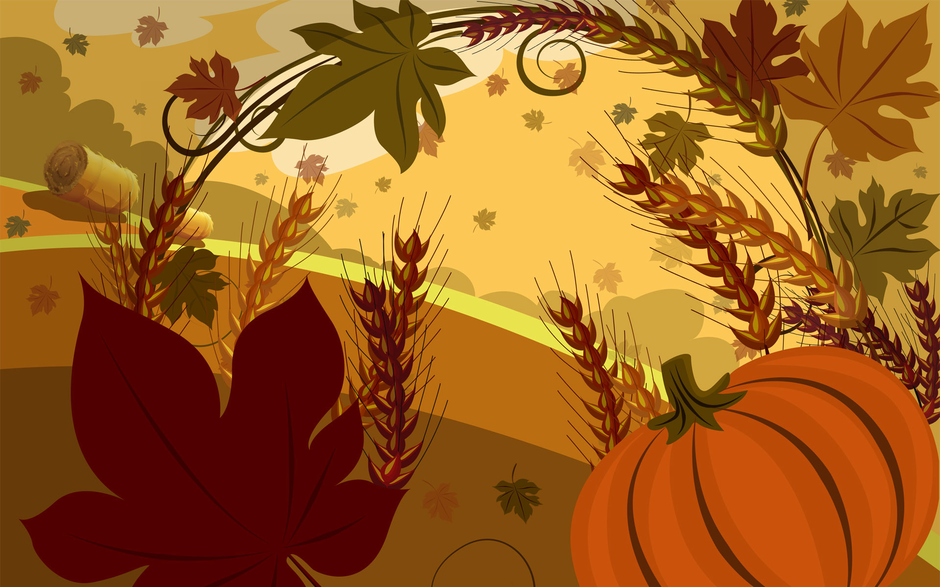 Res: 1920x1200, Thanksgiving Wallpapers Photo