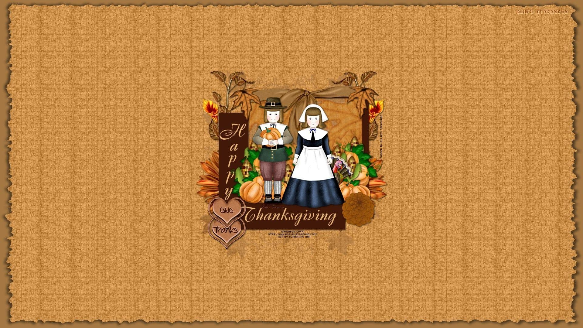 Res: 1920x1080, Cute Thanksgiving Wallpaper Backgrounds HD