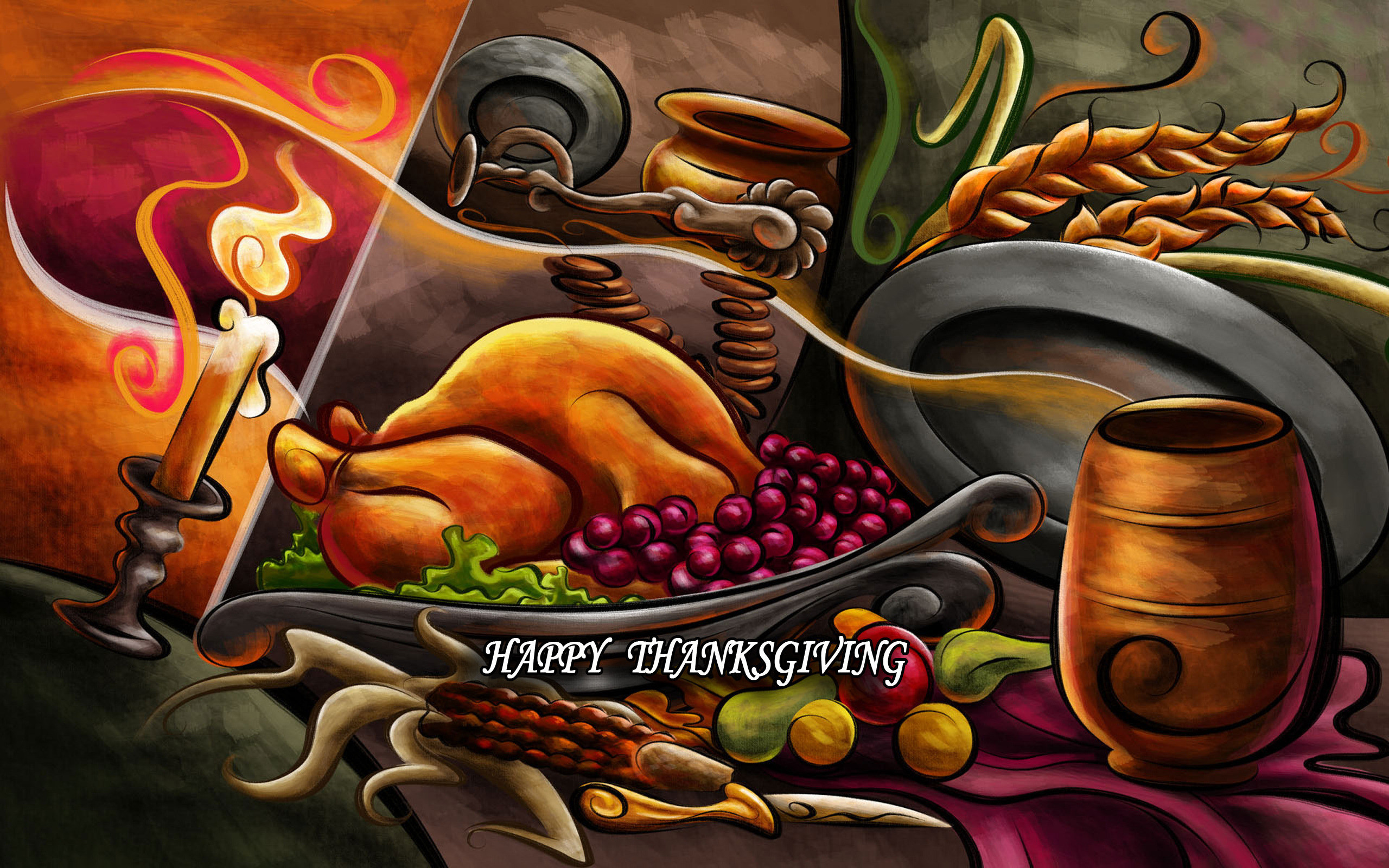 Res: 2560x1600, Thanksgiving Widescreen Background