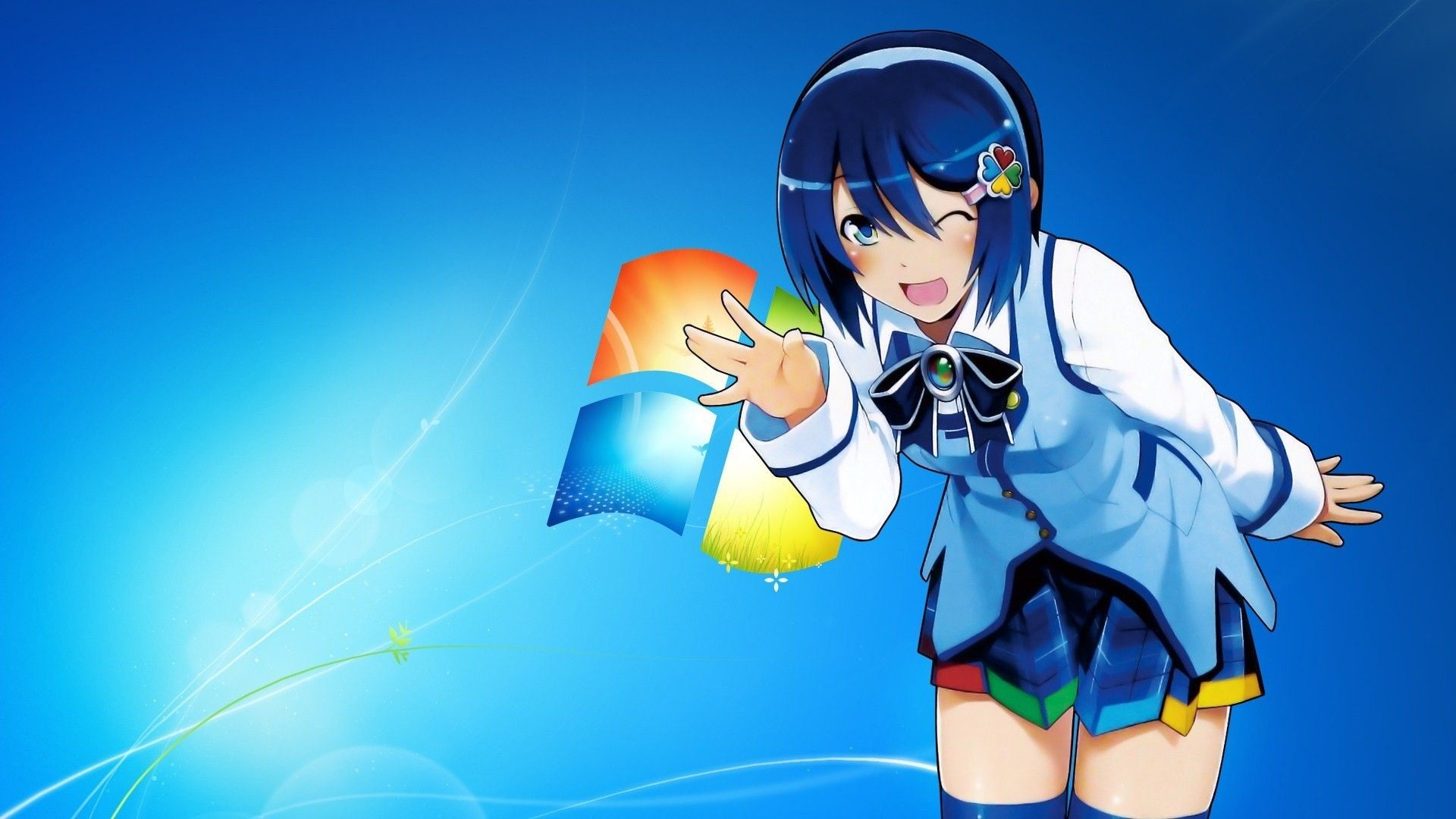Res: 1920x1080, Windows-7-Anime-Wallpaper-Galerie-(39-Plus)-PIC-WPW4010853