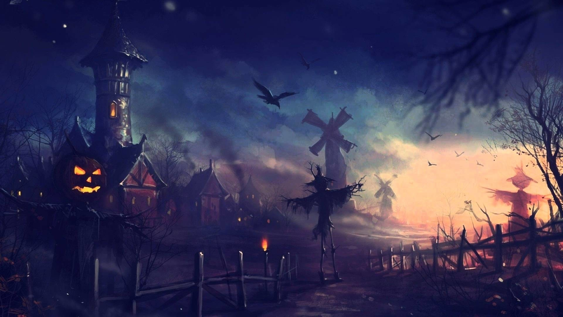 Res: 1920x1080, anime wallpaper halloween 436007 gorgerous anime halloween wallpaper   for windows 10