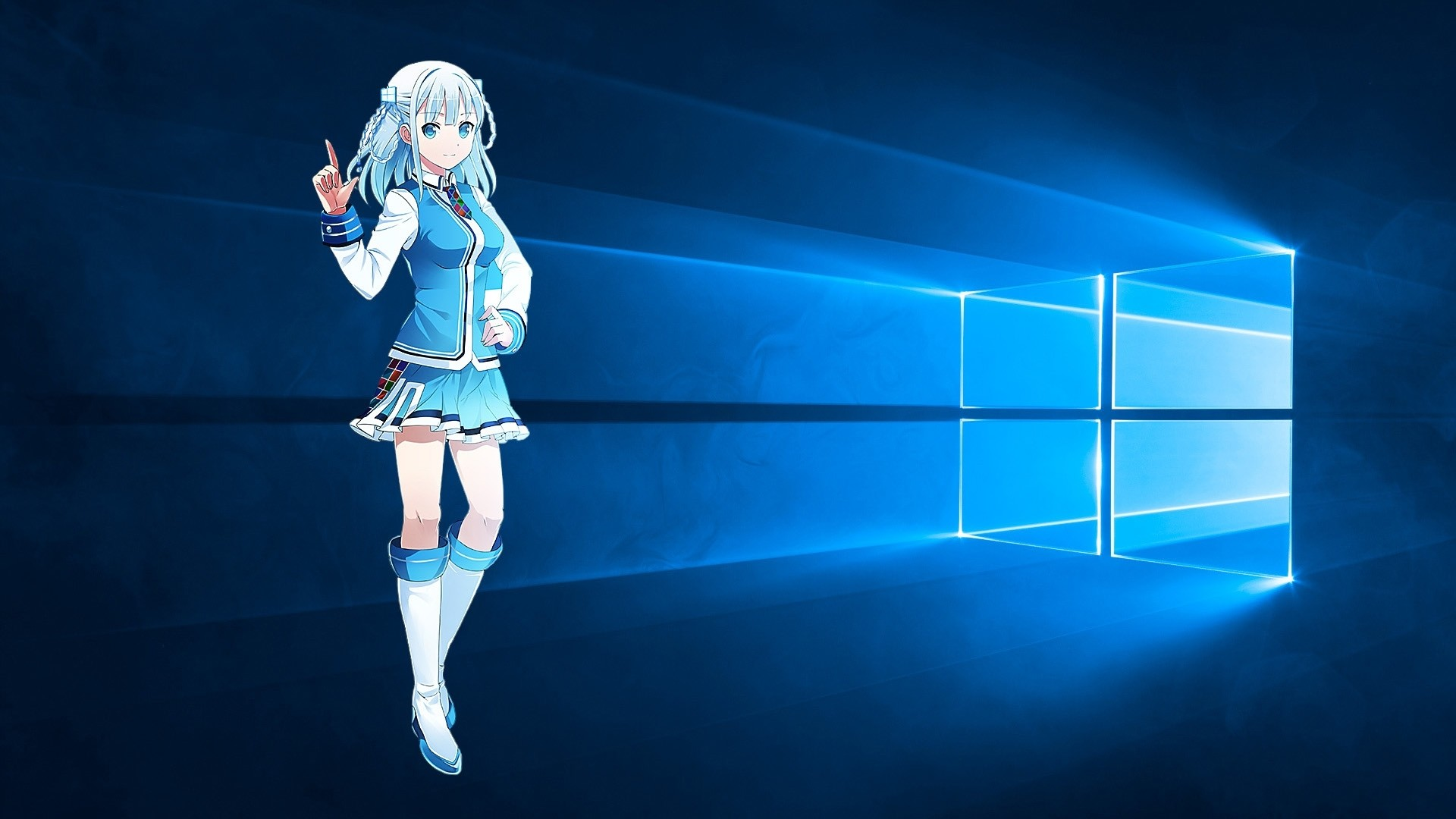 Res: 1920x1080, Best of Hd Anime Wallpapers for Windows 10 Free - Windows 10 Microsoft Anime  Girl Wallpaper