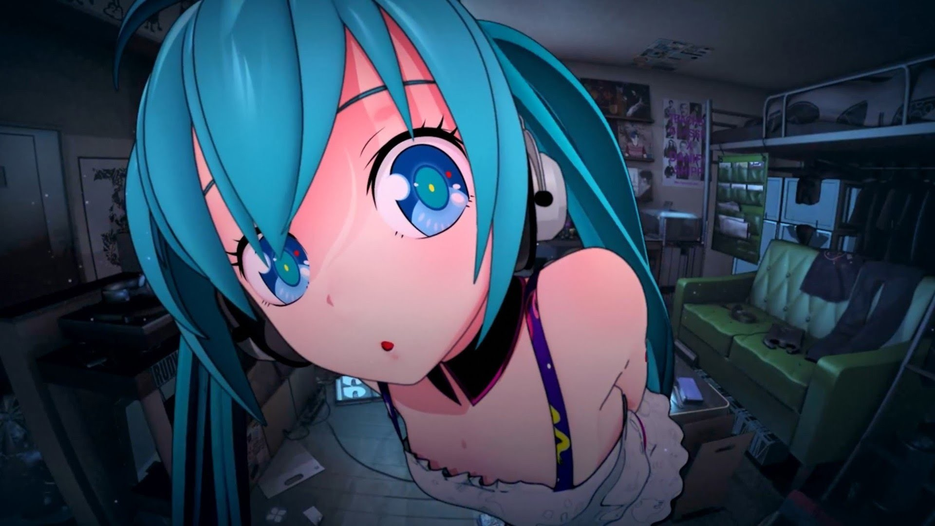 "Res: 1920x1080, Free Windows 10 Theme ""Hatsune Miku"""