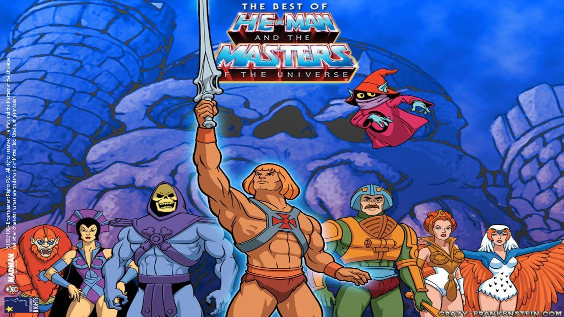 Res: 1920x1080, He man and the masters of cartoon wallpaper free desktop .
