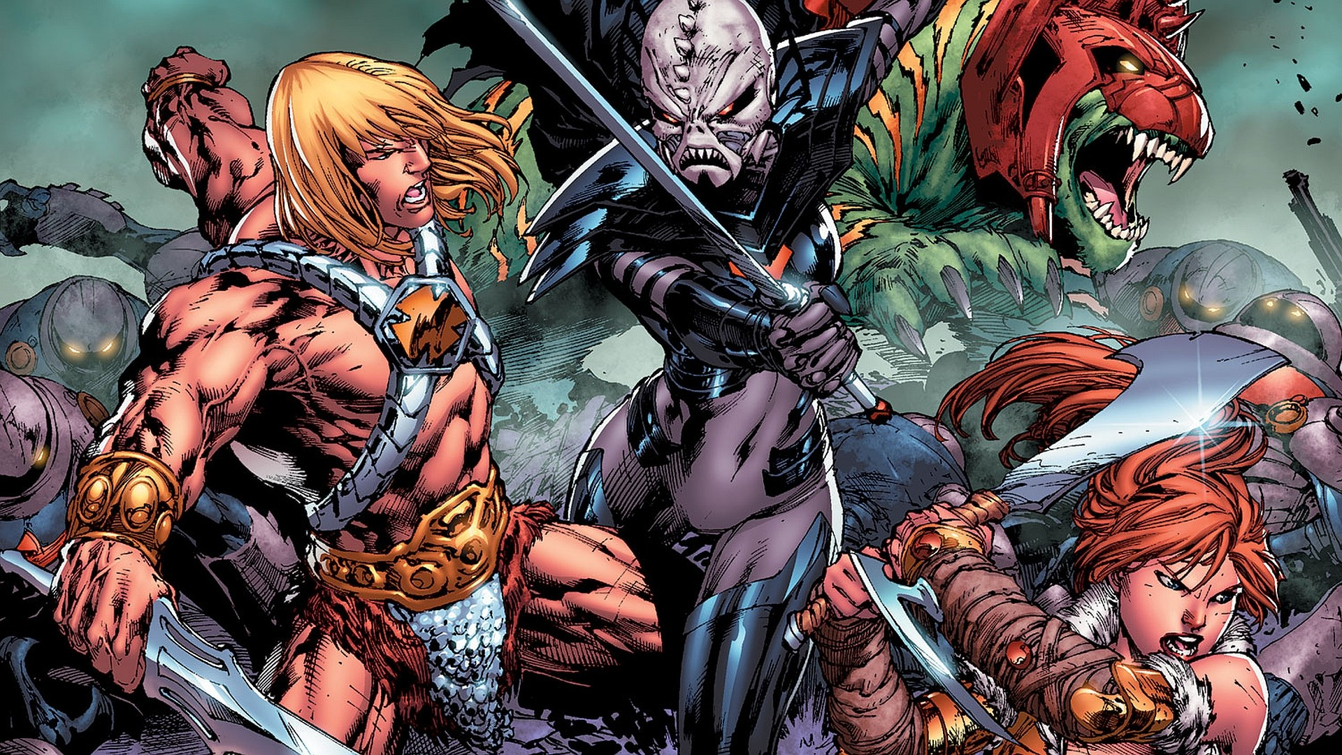 Res: 1920x1080, Comics - He-Man And The Masters Of The Universe Wallpaper