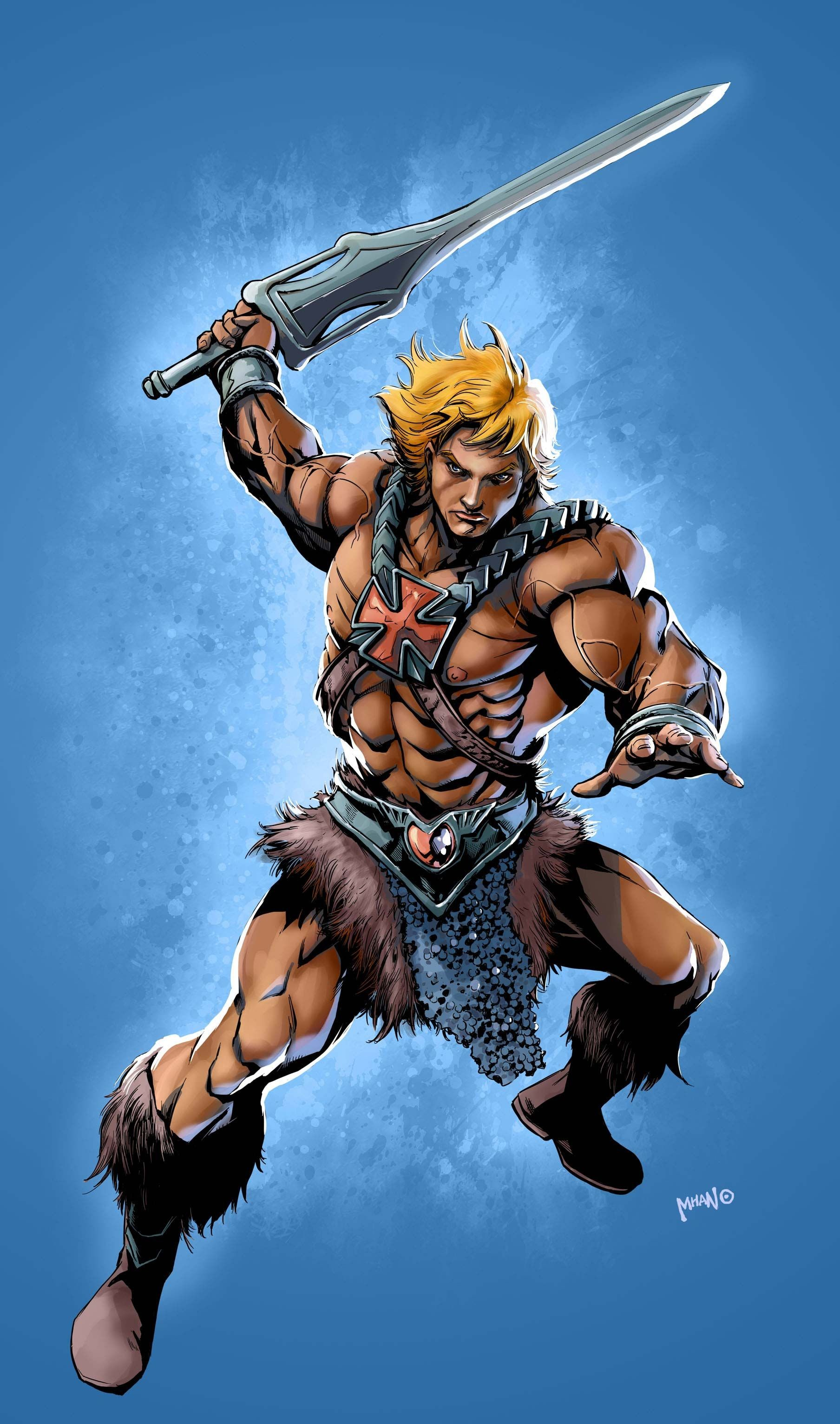 Res: 1808x3064, He-Man - wallpaper HD
