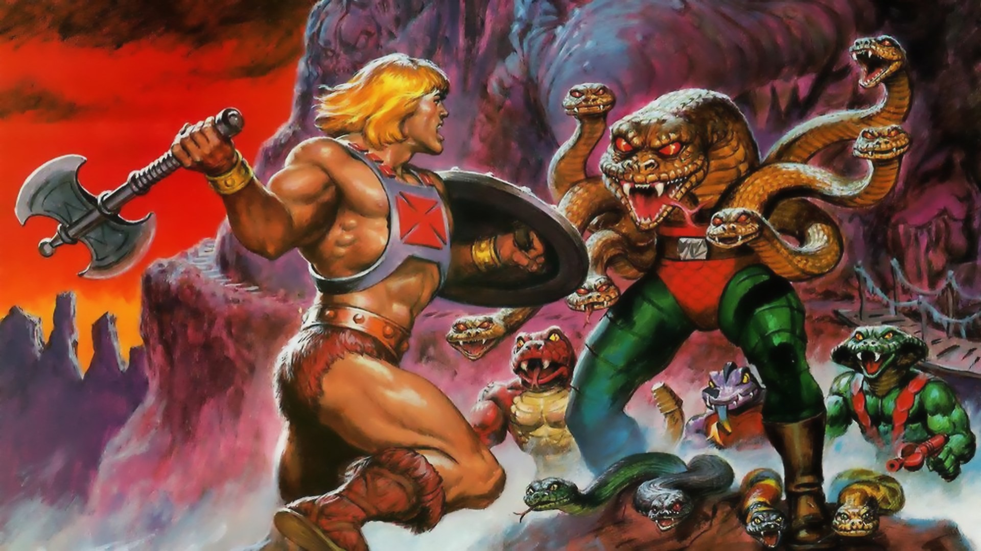 Res: 1920x1080, Masters of the Universe He-Man 1080p HD Wallpaper Background