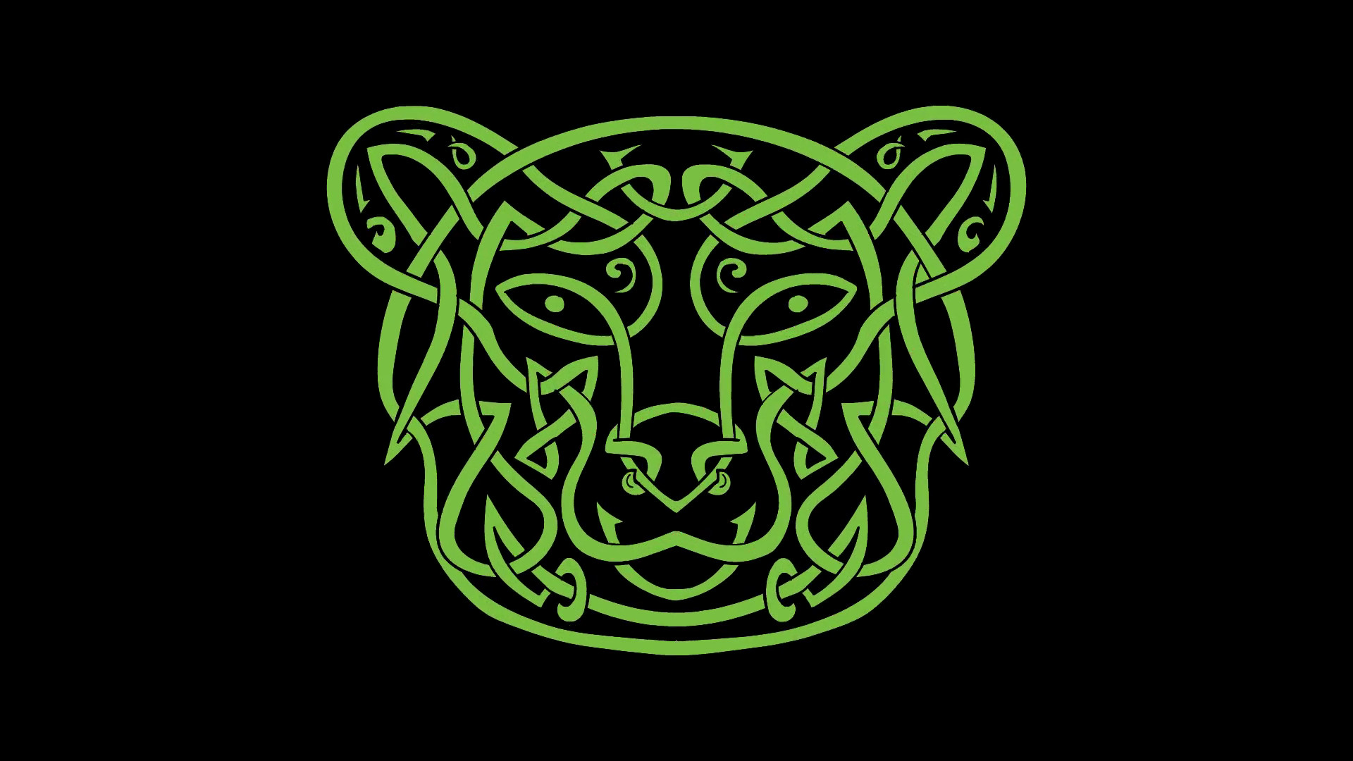 Res: 1920x1080, Bear and Bull Celtic Knot Morph Animation Motion Background - Videoblocks