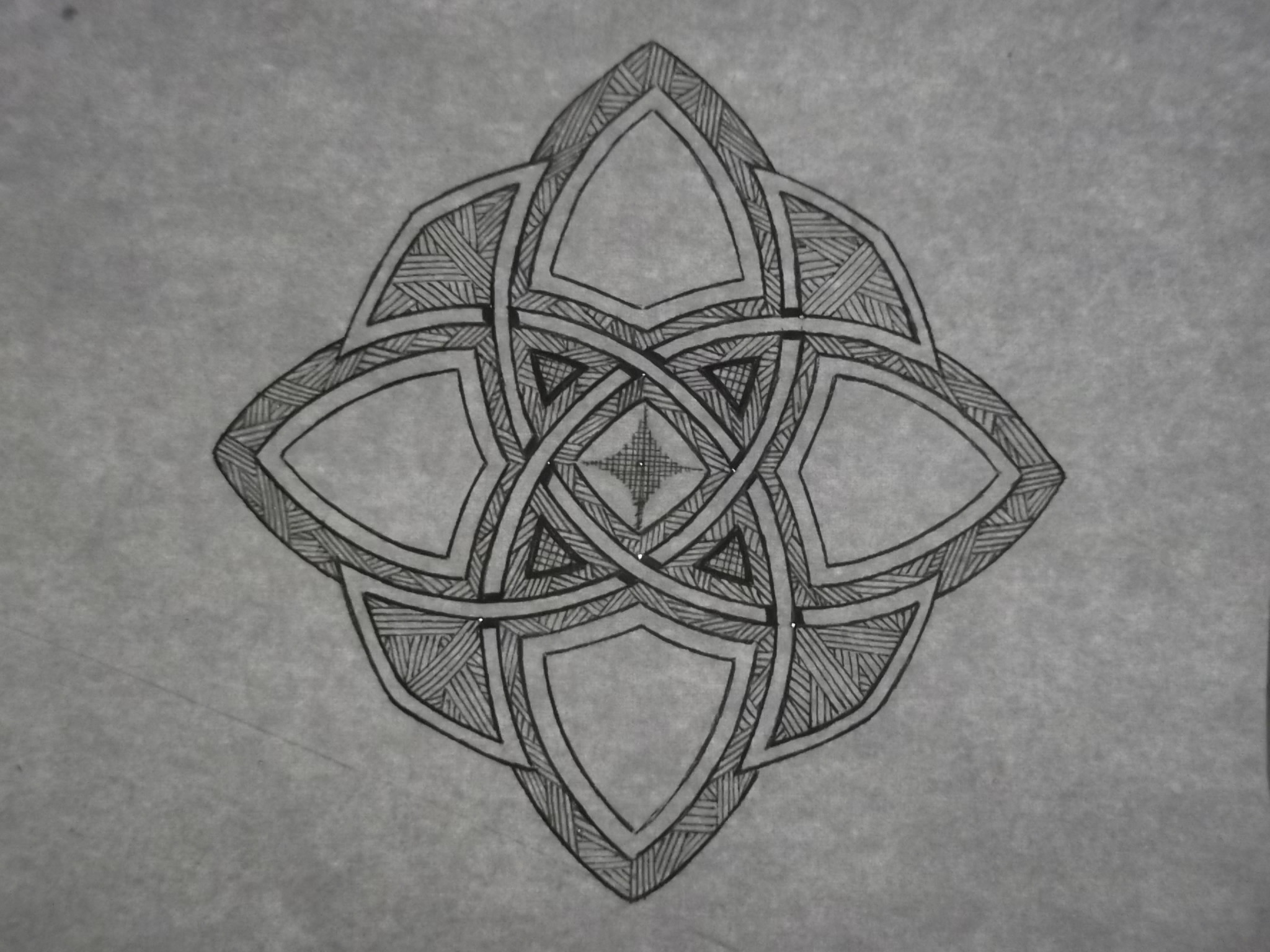 Res: 2048x1536, ... Day 74 - Solid Celtic knot crest by AmaterSensei