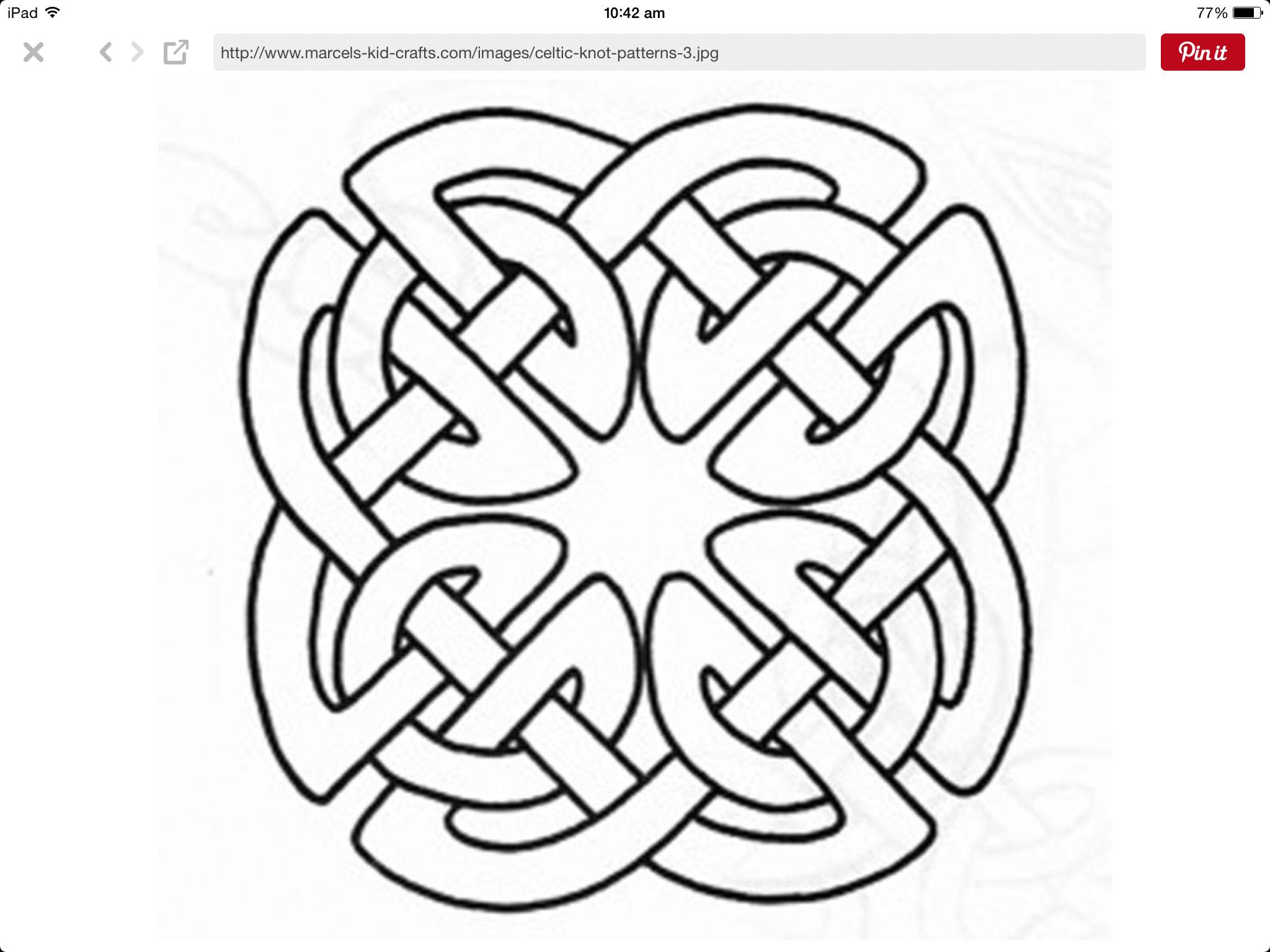Res: 2048x1536, Mittelalter, Keltische Knoten, Muster, Punzieren, Kelten, Schnitzen, Leder,  Zeichnen, Holzschnitzerei
