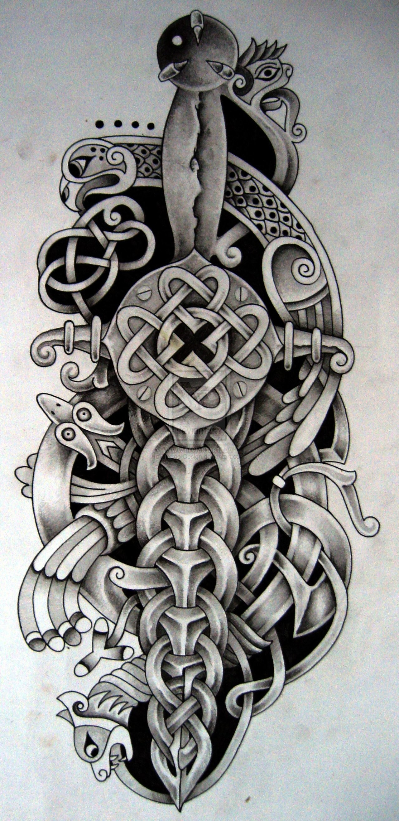 Res: 1280x2633, 30 Knot Tattoo Designs And Ideas