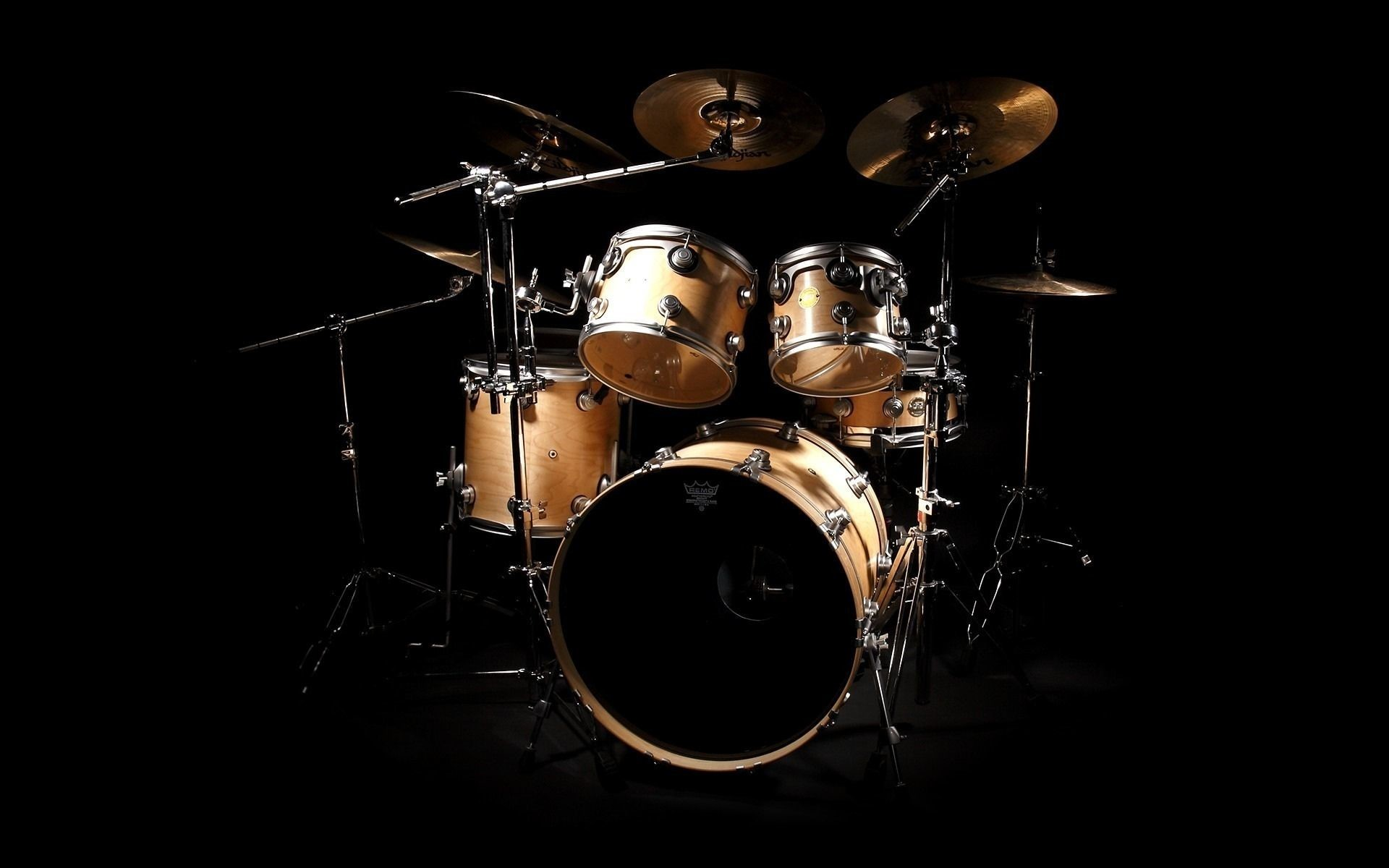 Res: 1920x1200, Music Drums Wallpaper