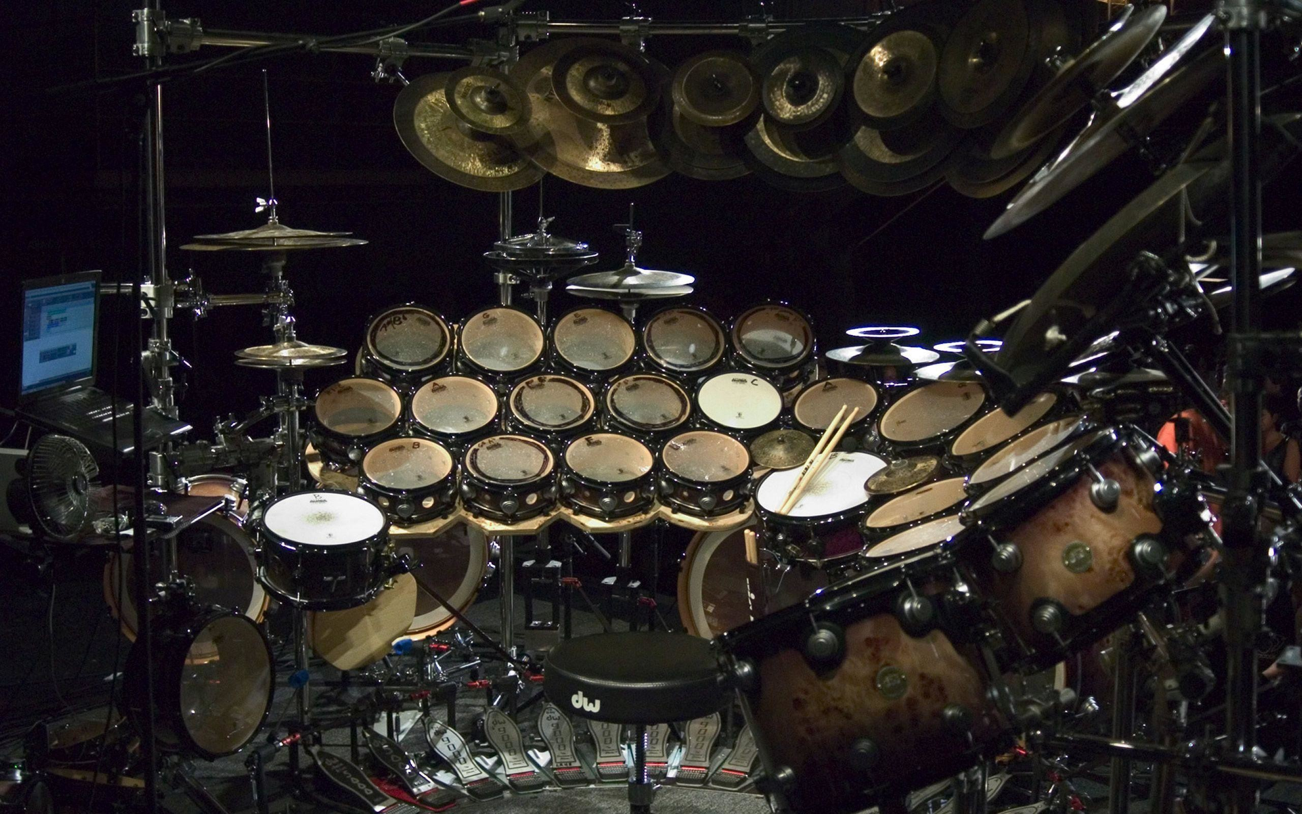 Res: 2560x1600, Dw Drum Set Wallpaper - Viewing Gallery