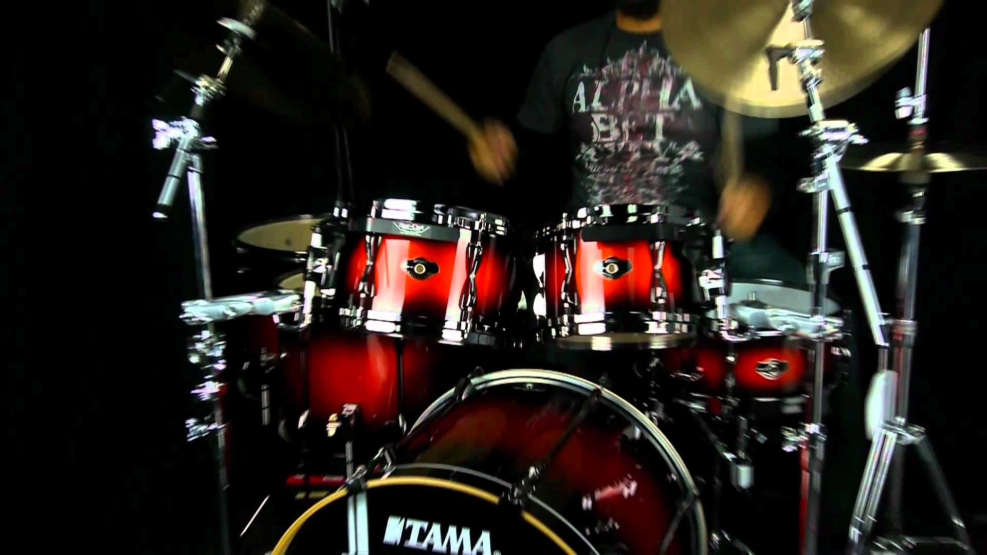 Res: 1920x1080, drum set wallpaper