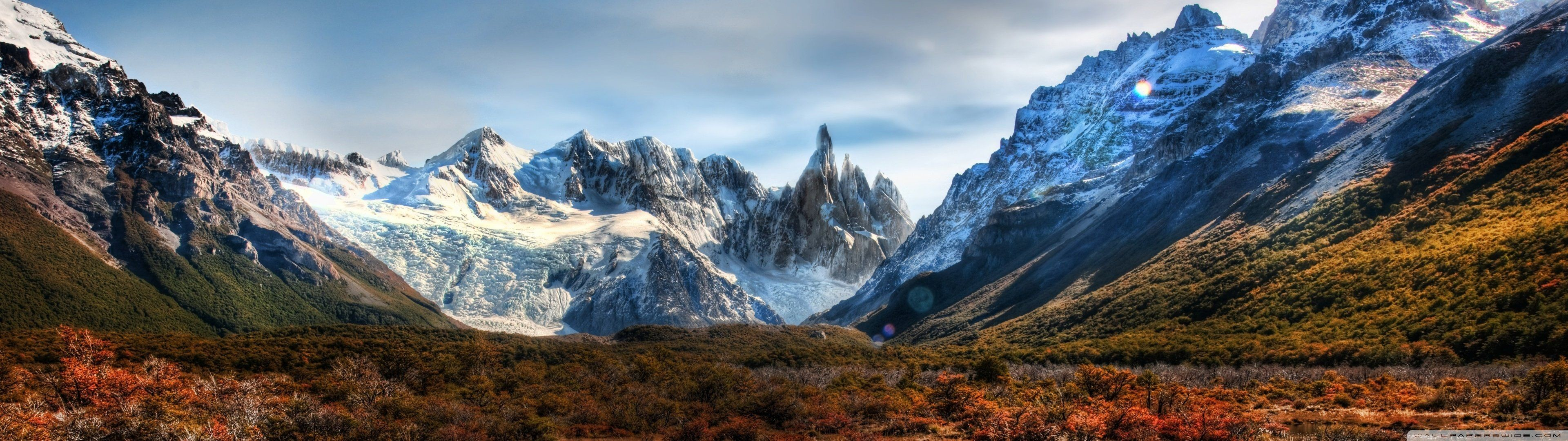 Res: 3840x1080, Mountains Dual Screen Wallpaper |  | ID:43219