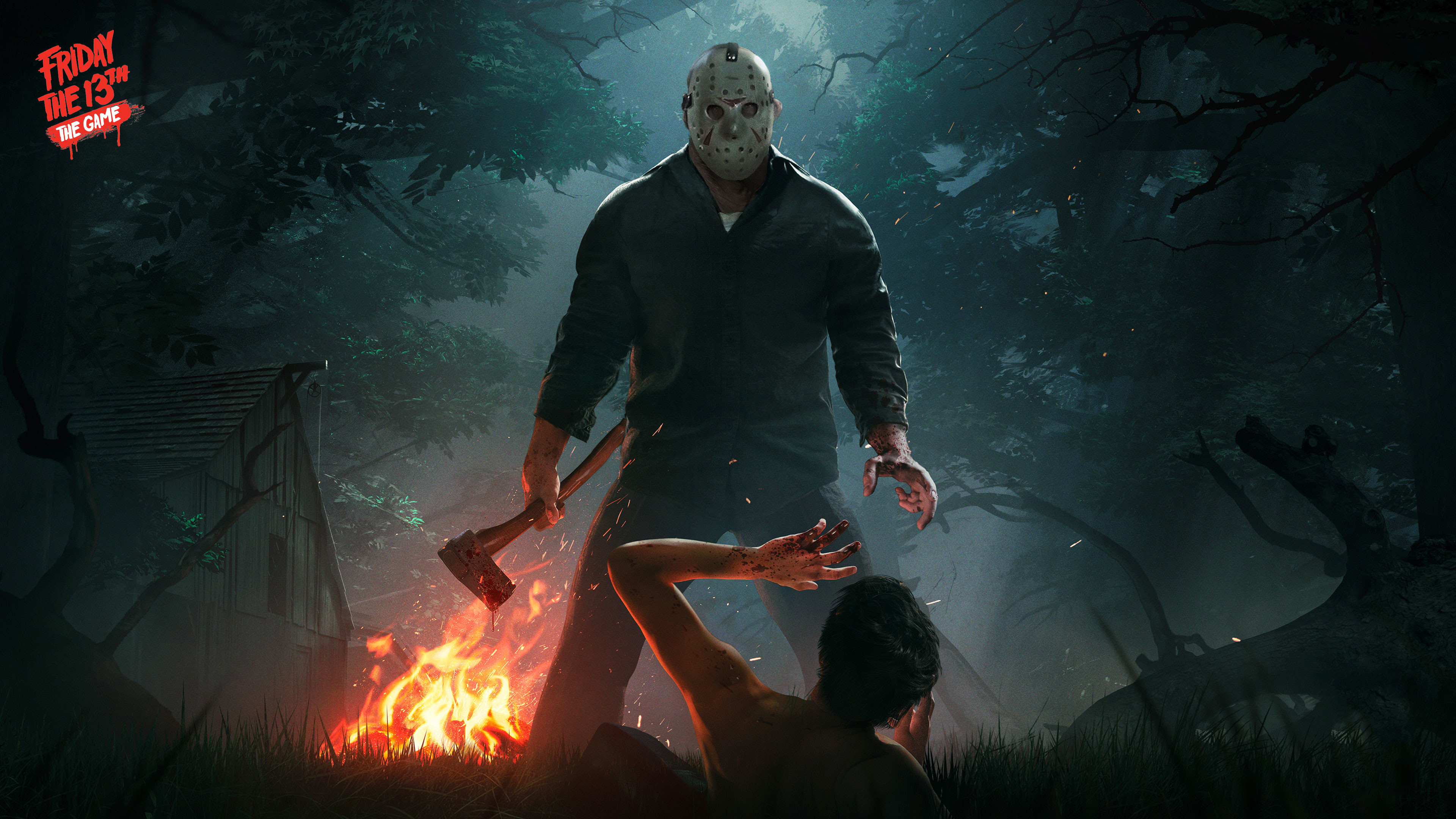 Res: 3840x2160, Friday the 13th the game 4K Wallpaper ...