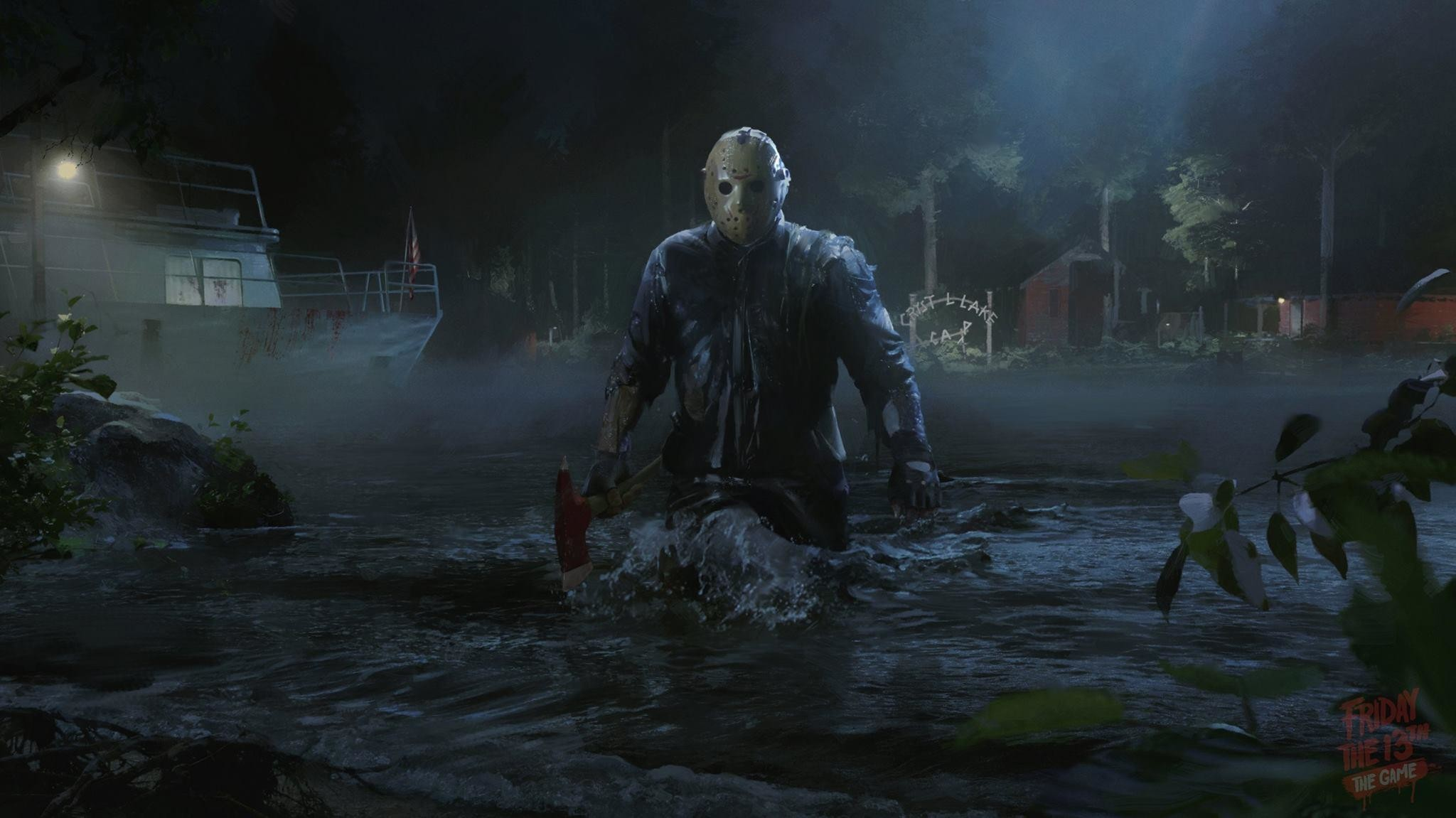 Res: 2048x1151, 7 Friday The 13th: The Game HD Wallpapers | Backgrounds .