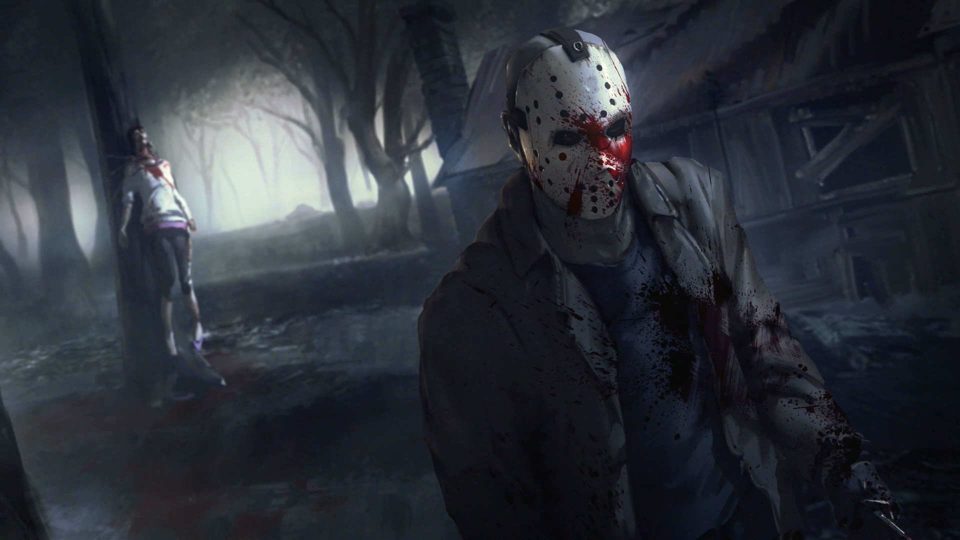 Res: 1920x1080, Computerspiele - Friday the 13th: The Game Wallpaper