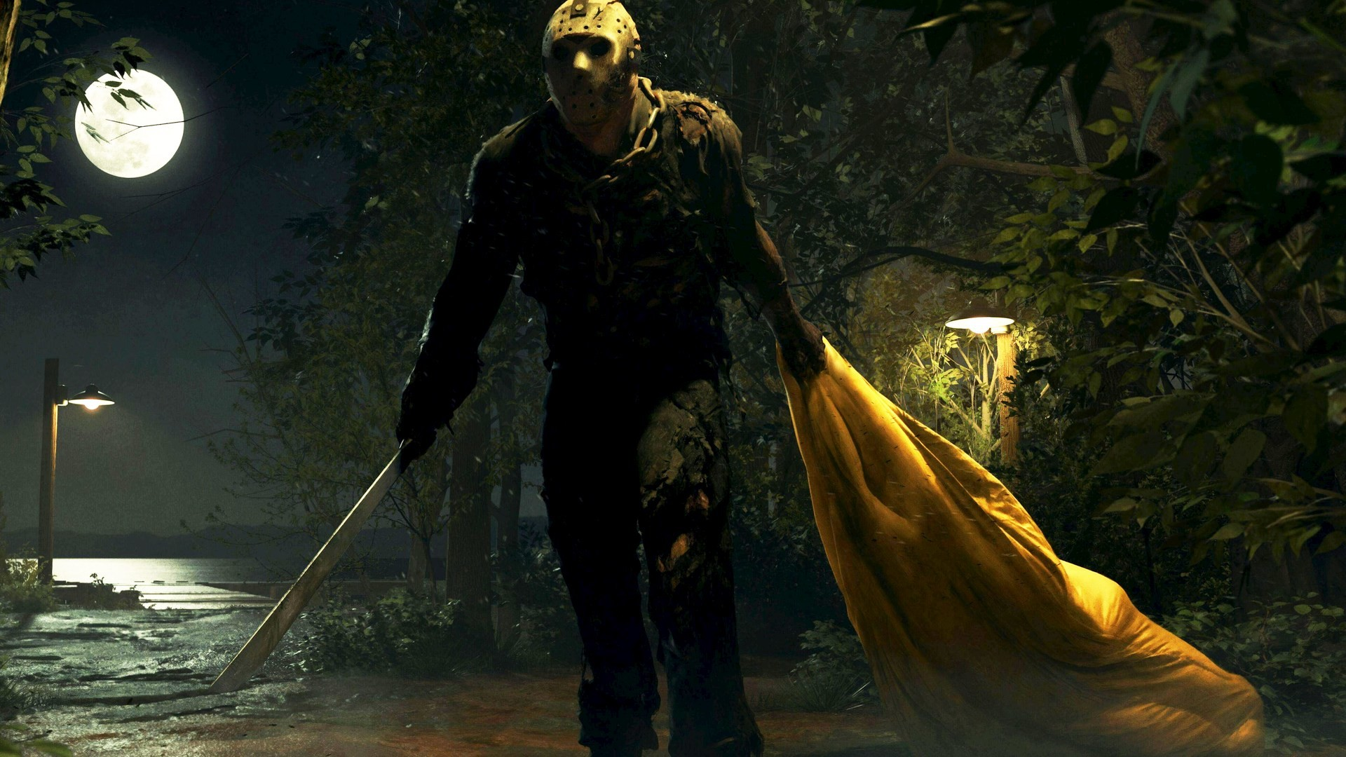 Res: 1920x1080, Friday the 13th: The Game HD Wallpapers 11 - 1920 X 1080