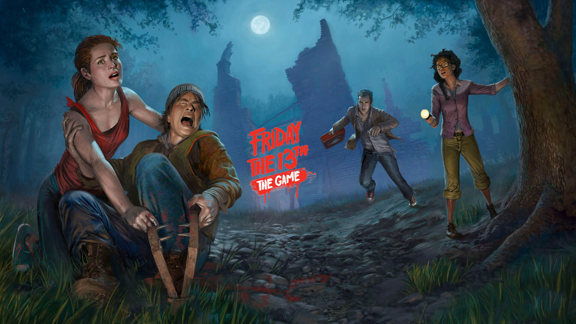 Res: 1920x1080, Friday the 13th: The Game HD Wallpapers 7 - 1920 X 1080
