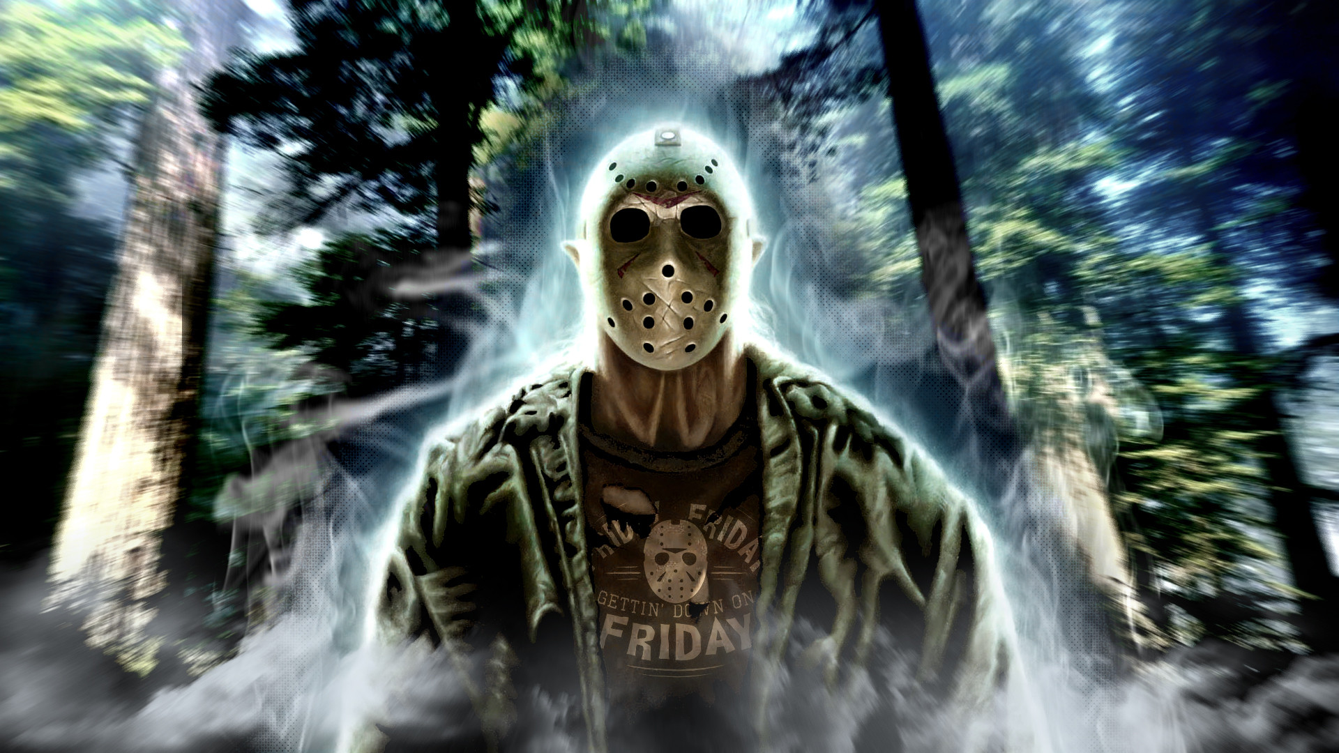 Res: 1920x1080, ... Friday the 13th wallpaper. by Royartandstuff