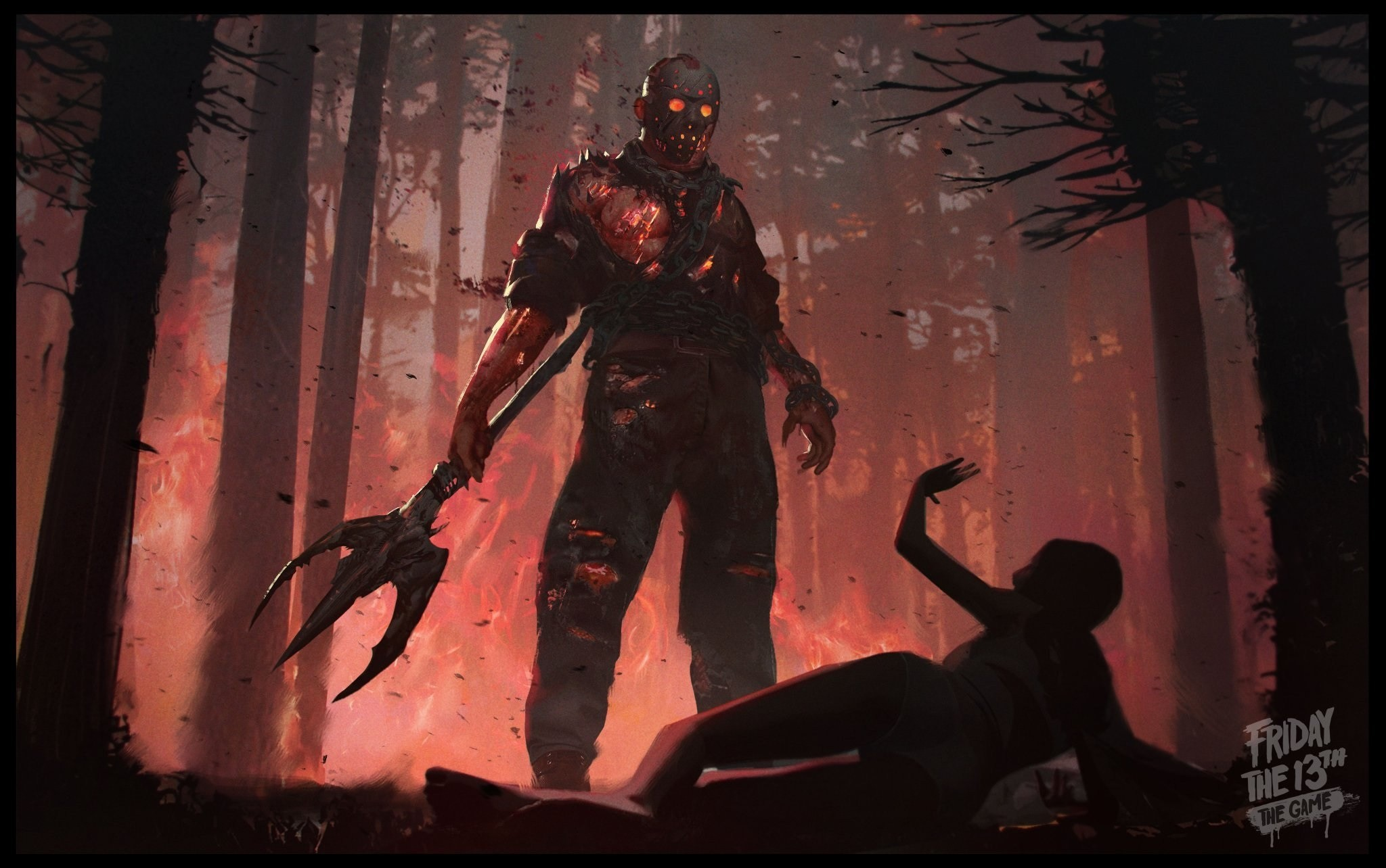 Res: 2048x1284, Video Game - Friday the 13th: The Game Wallpaper