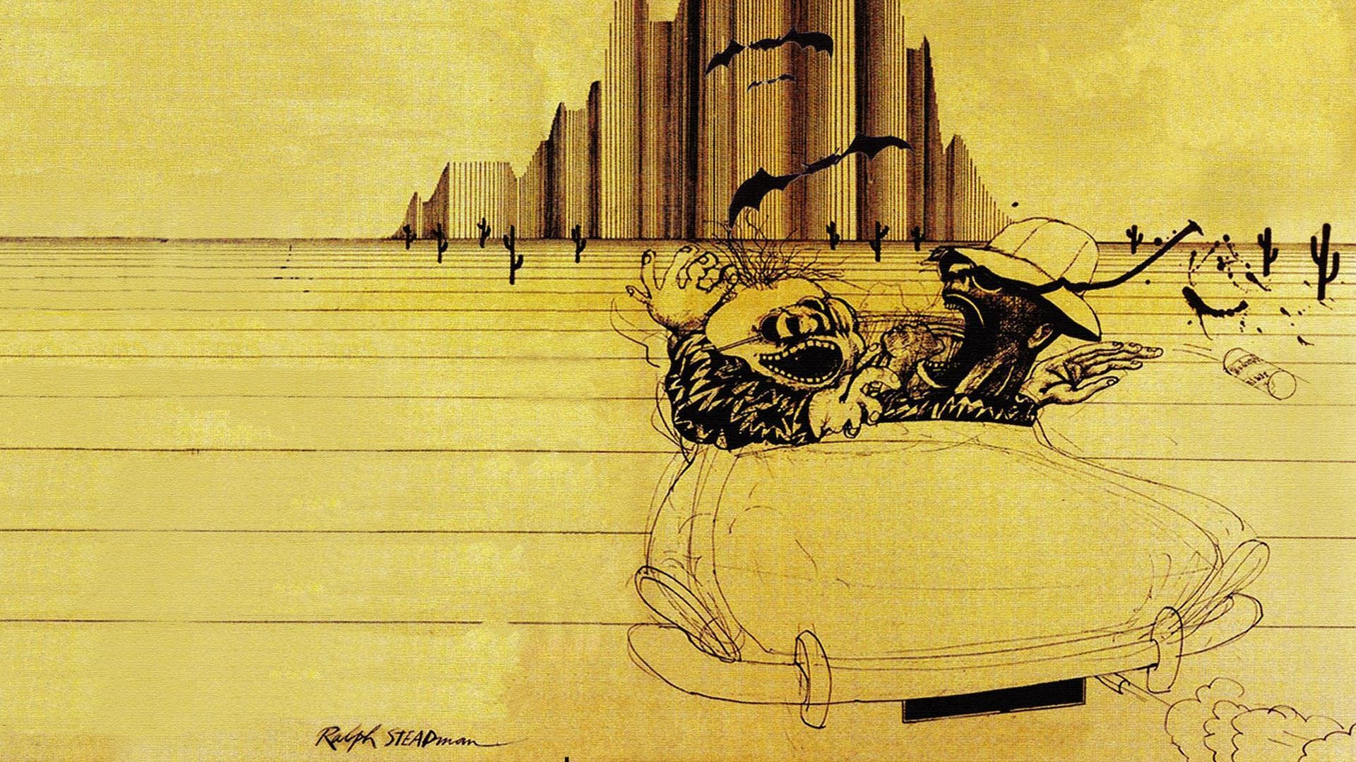 Res: 1920x1080, Fear and Loathing in Las Vegas images Ralph Steadman illustration HD  wallpaper and background photos