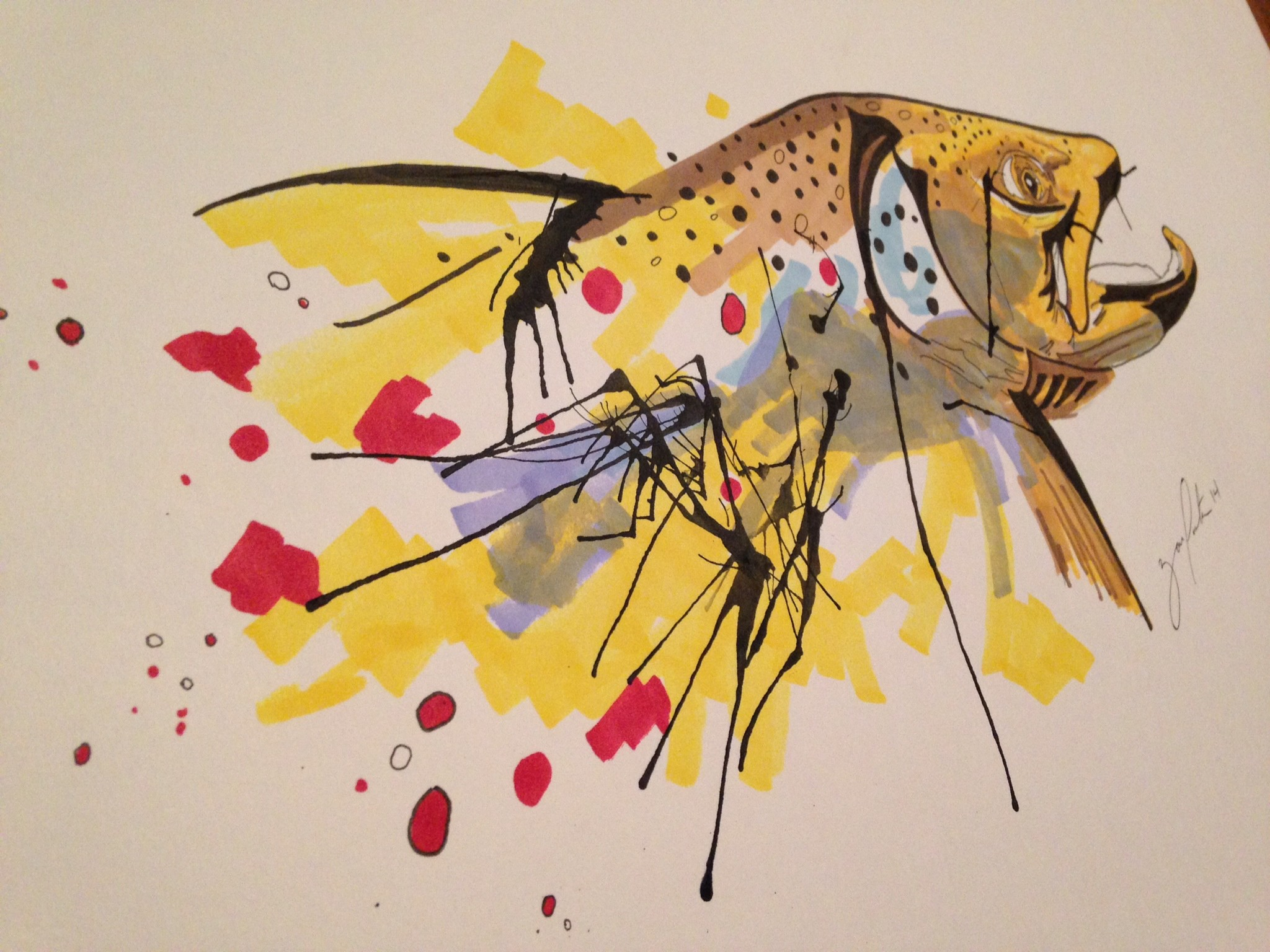 Res: 2048x1536, Where do you find your ideas and inspirations? Ralph Steadman ...