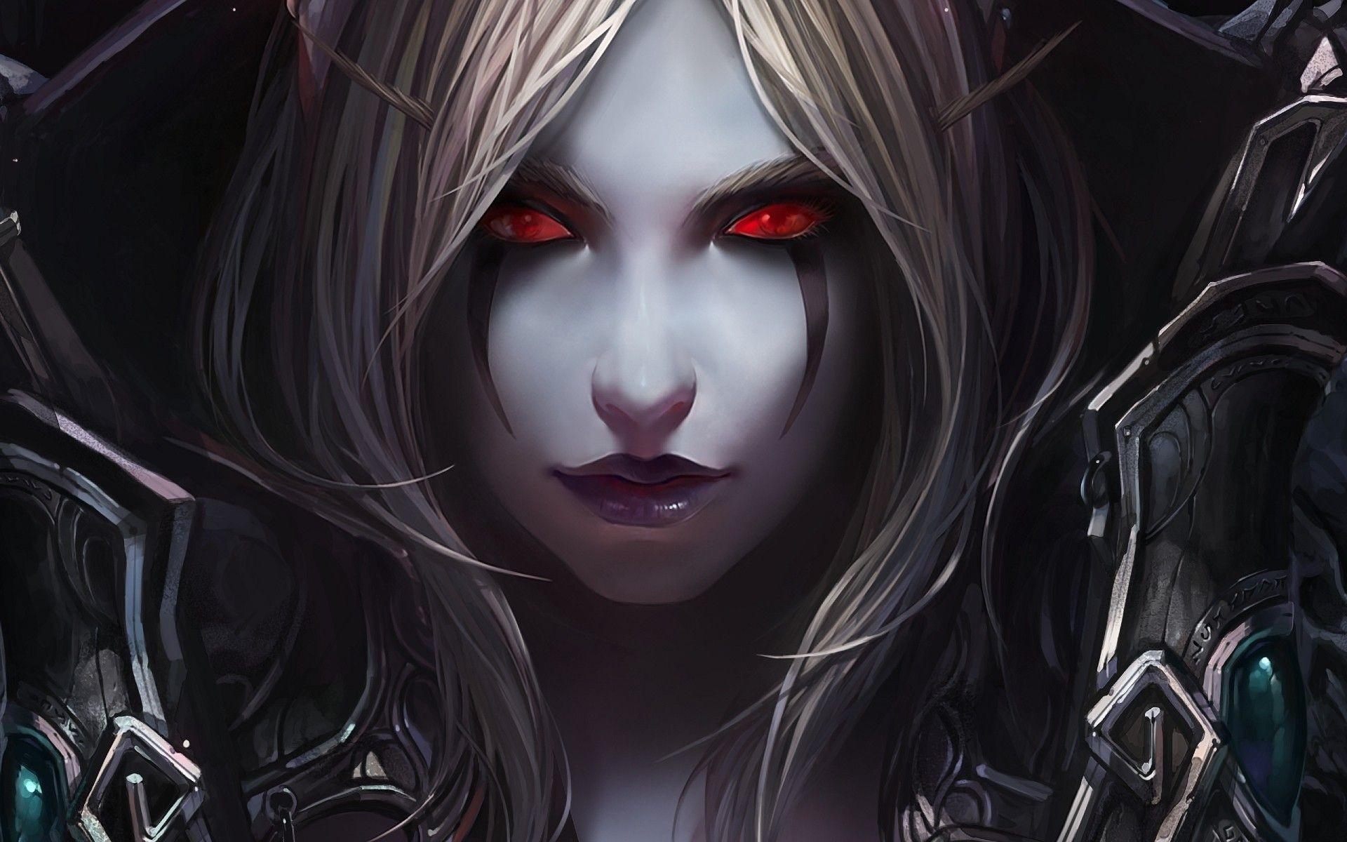 Res: 1920x1200, World of Warcraft Sylvanas Windrunner /  Wallpaper