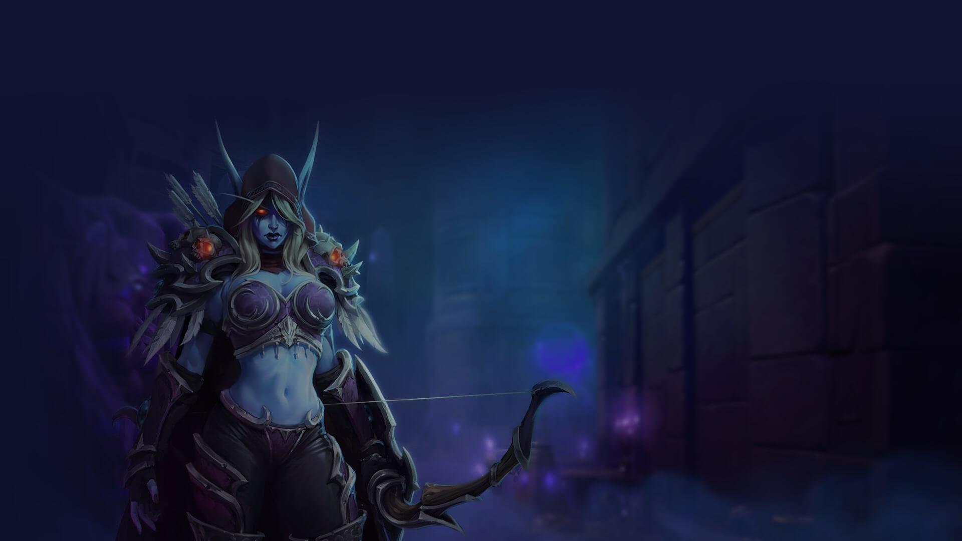 Res: 1920x1080, World of Warcraft Sylvanas Statue