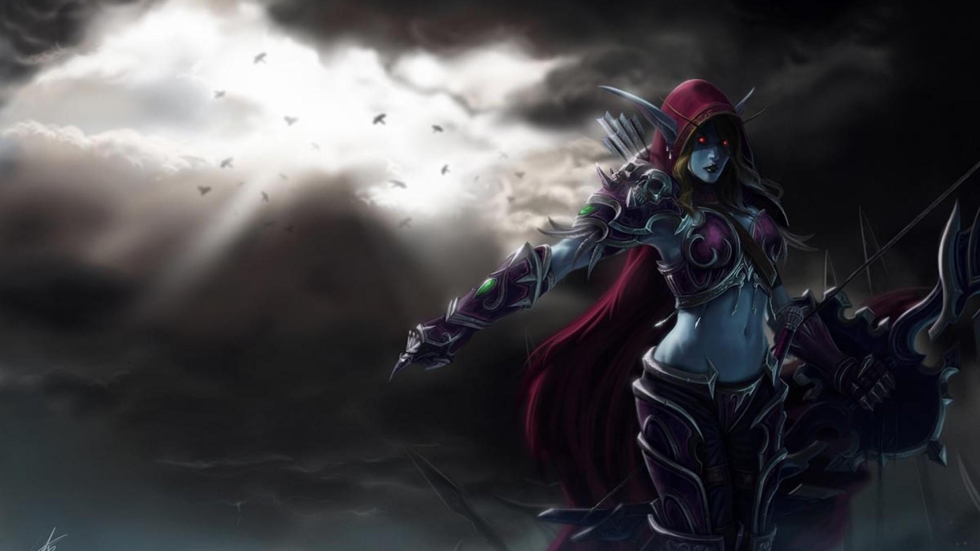 Res: 1920x1080, Encantador Valla Wow #3 - Steam Community Sylvanas Windrunner World Of  Warcraft