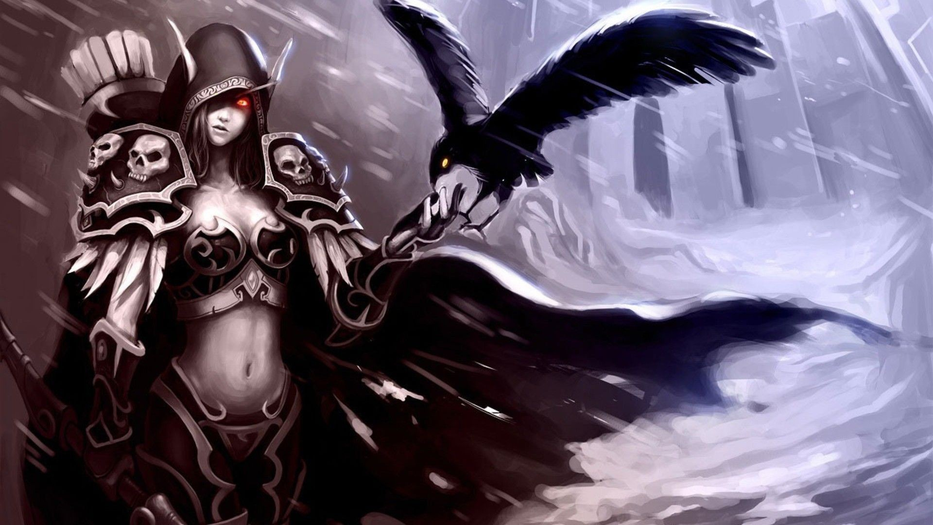 Res: 1920x1080, Sylvanas Windrunner - World Of Warcraft HD Lovely Wallpaper Free .