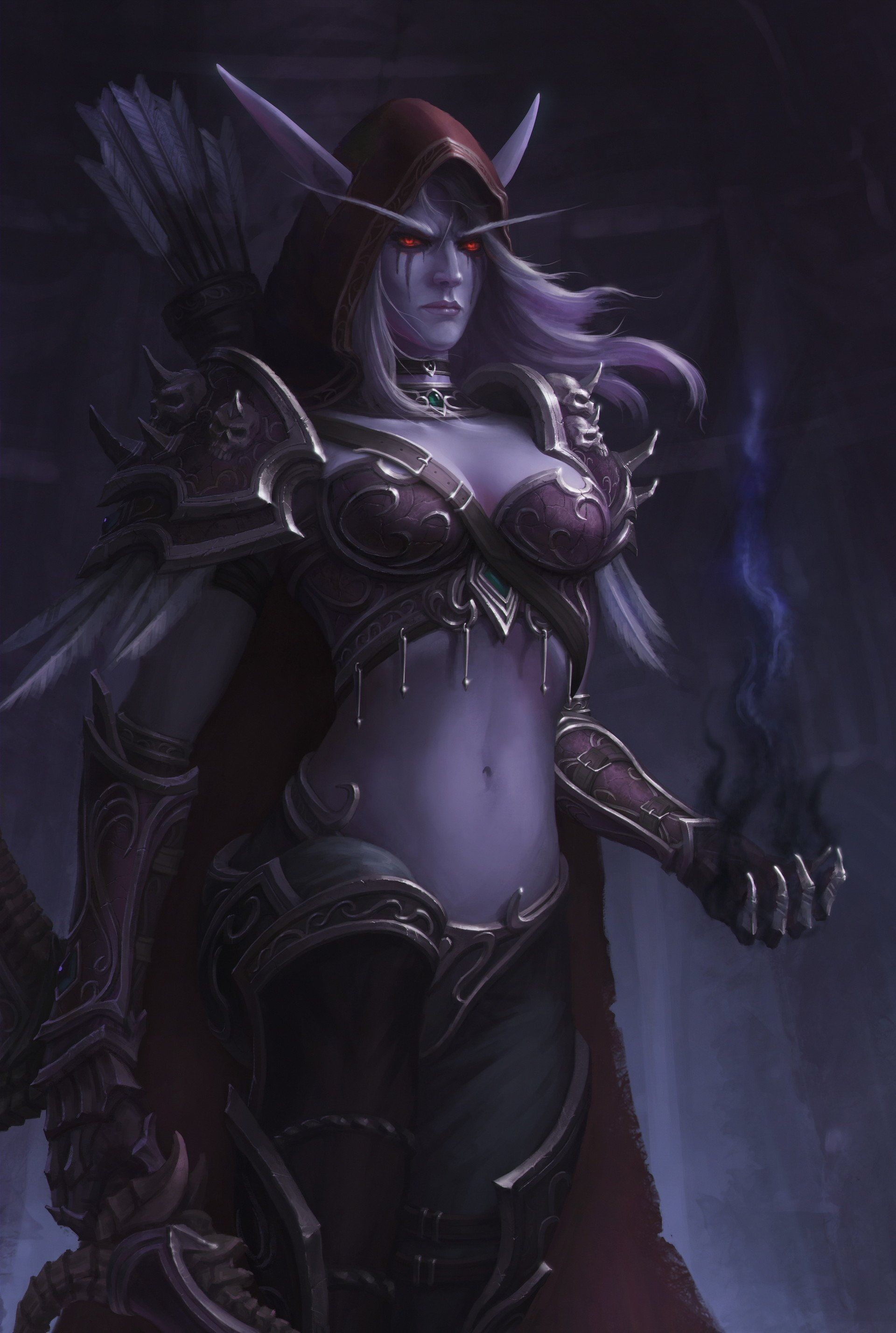 Res: 1920x2854, Sylvanas Windrunner by Earl Lan