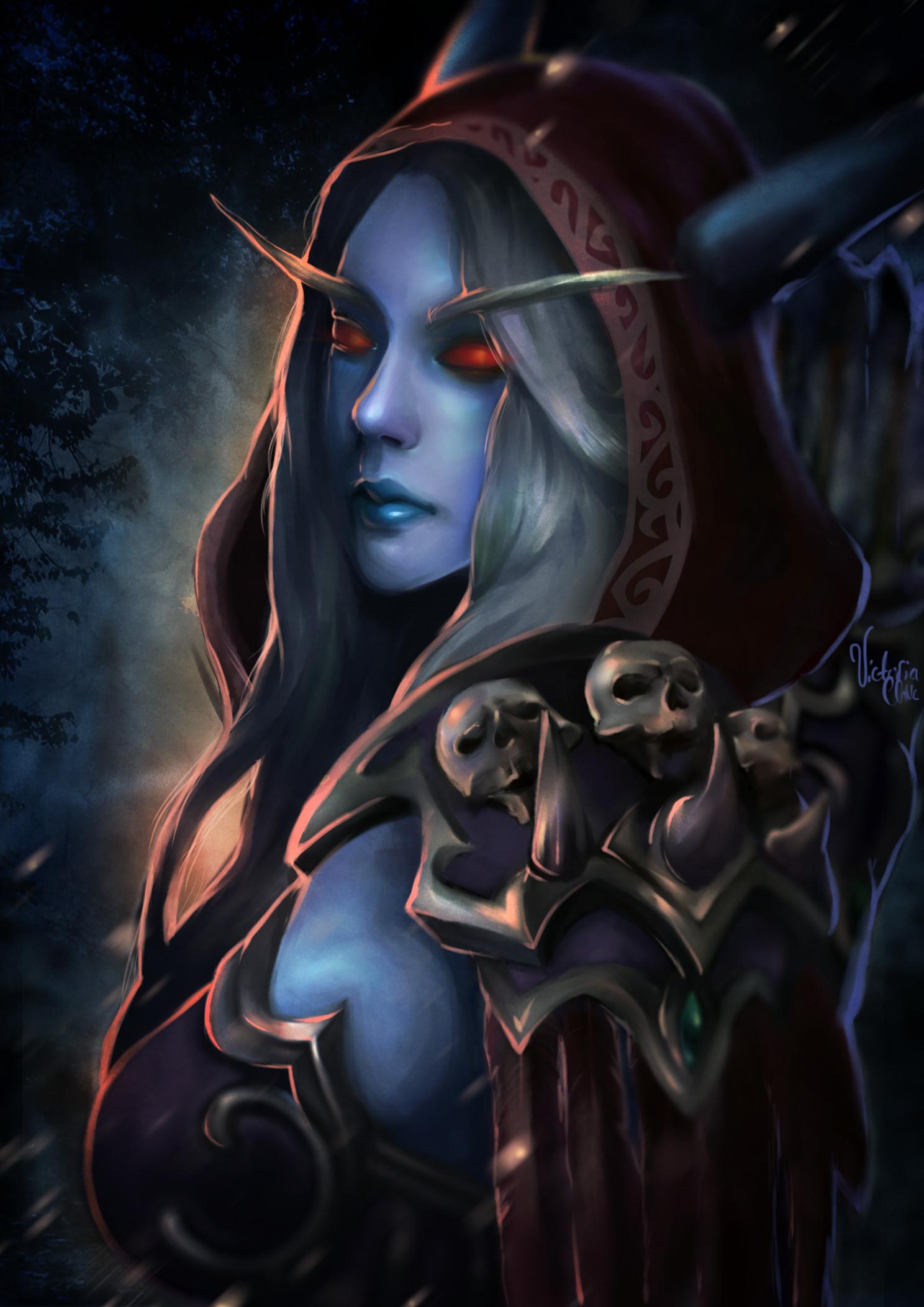 Res: 1488x2105, Pin by Art Seredyuk on SYLVANAS | Pinterest | deviantART, Warcraft art and  Fantasy art