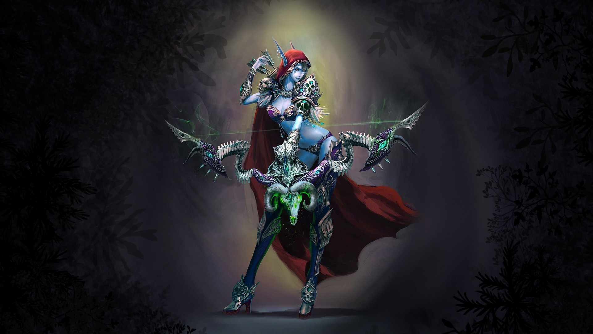 Res: 1920x1080, Sylvanas Windrunner, World of Warcraft