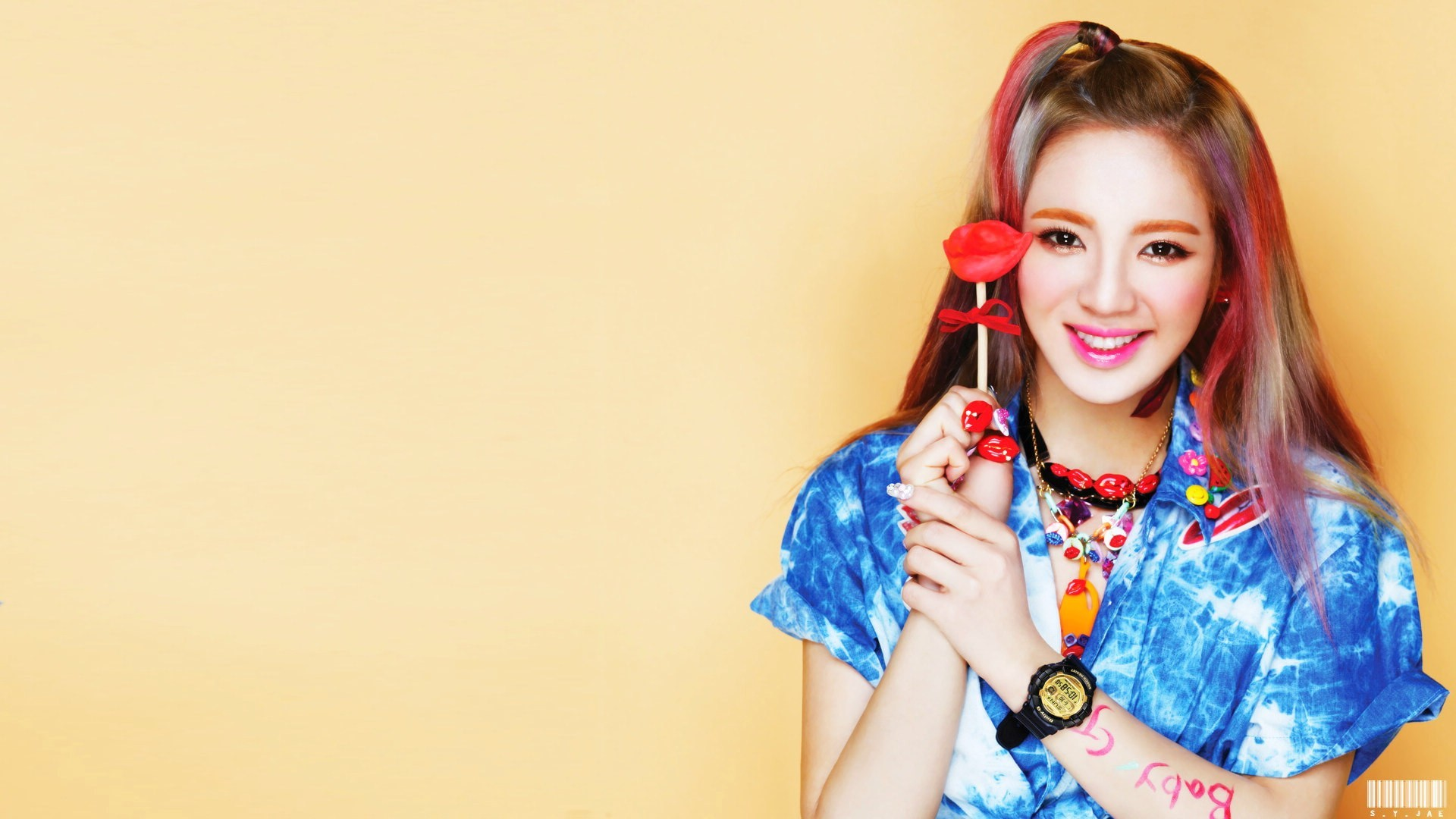 Res: 1920x1080, SNSD Hyoyeon Pictures Collection HD Desktop Wallpaper, Background Image